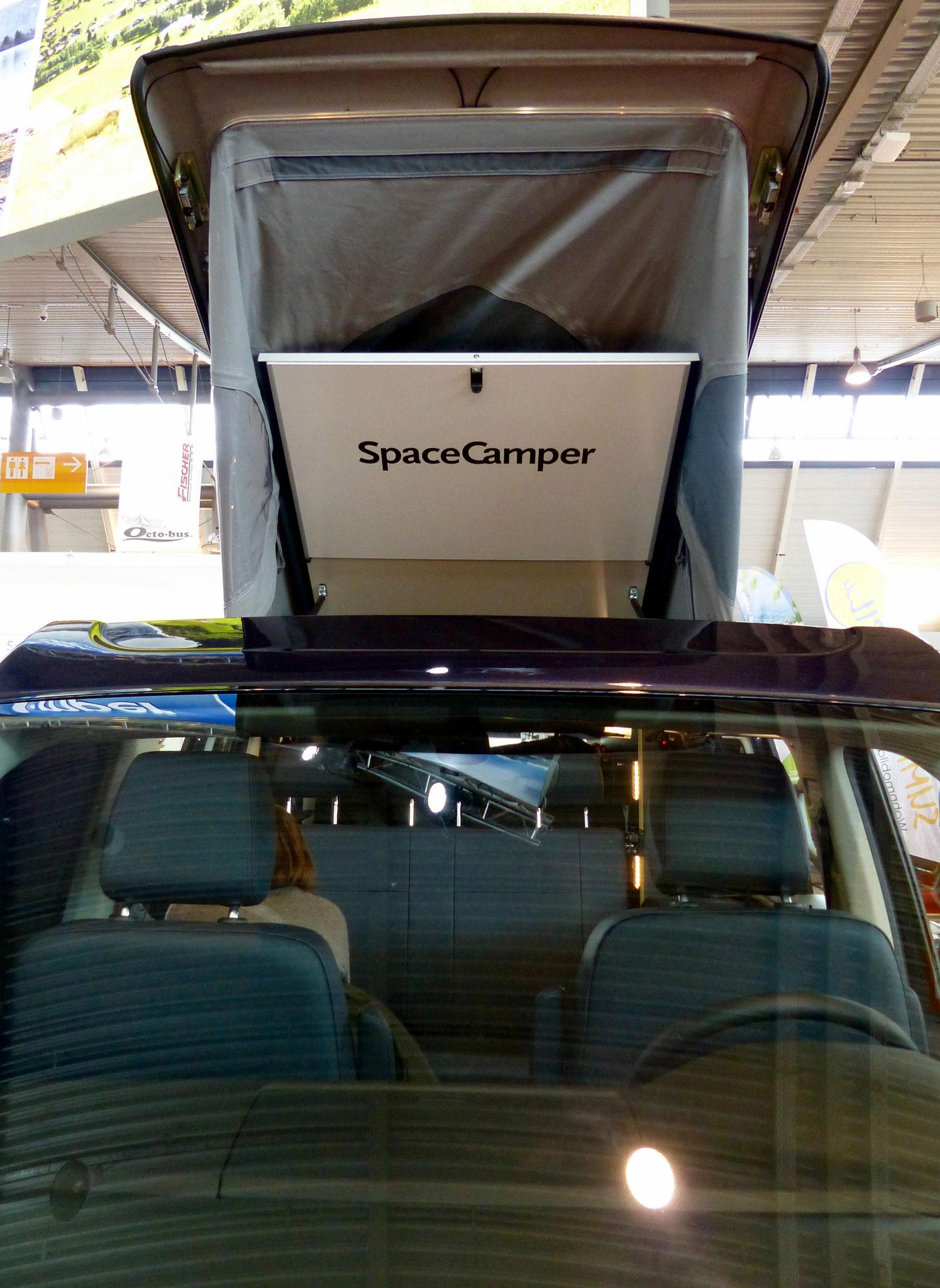 Cooles Marketing auch bei Spacecamper.