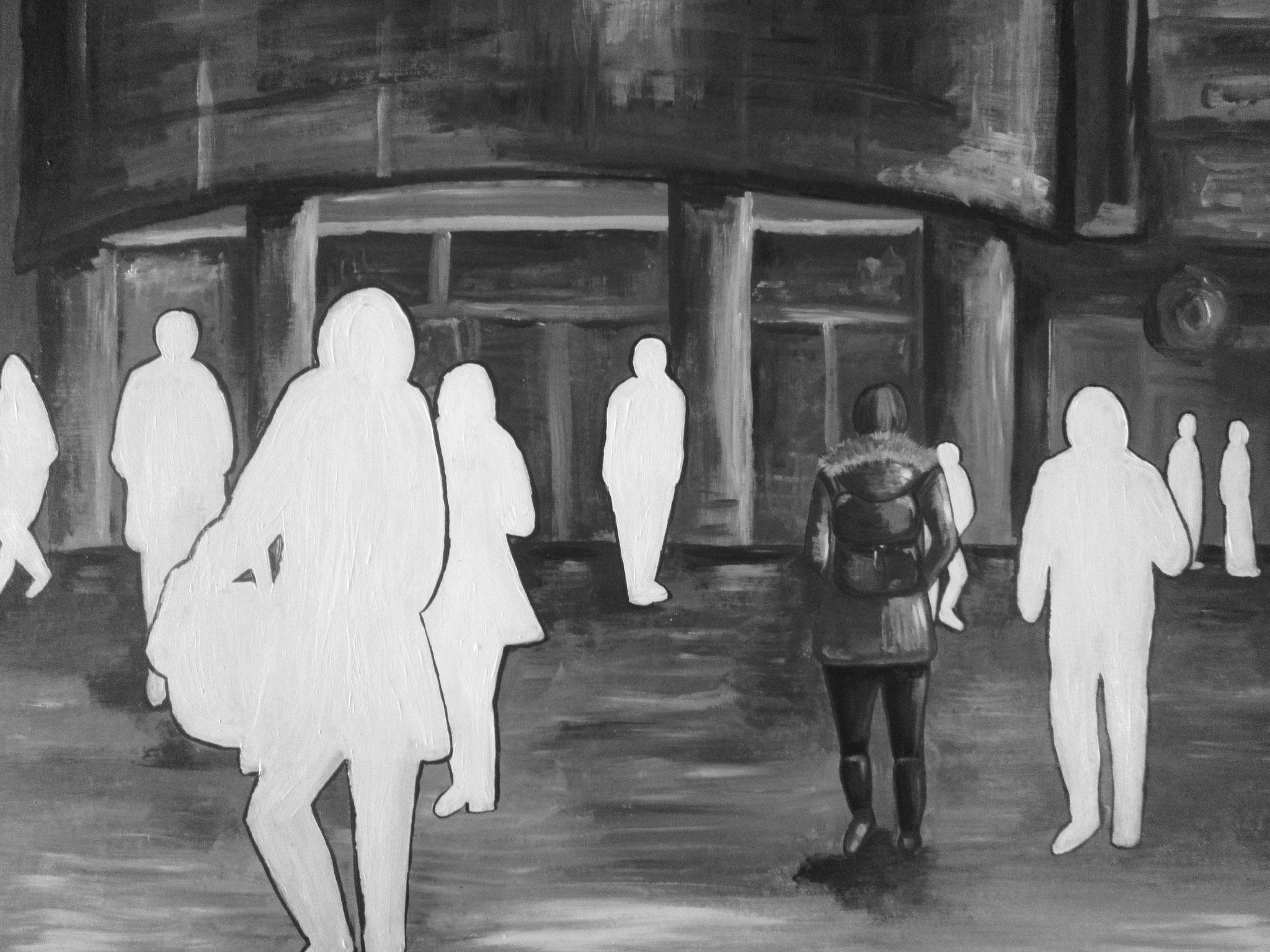 Einsamkeit in der Grossstadt
