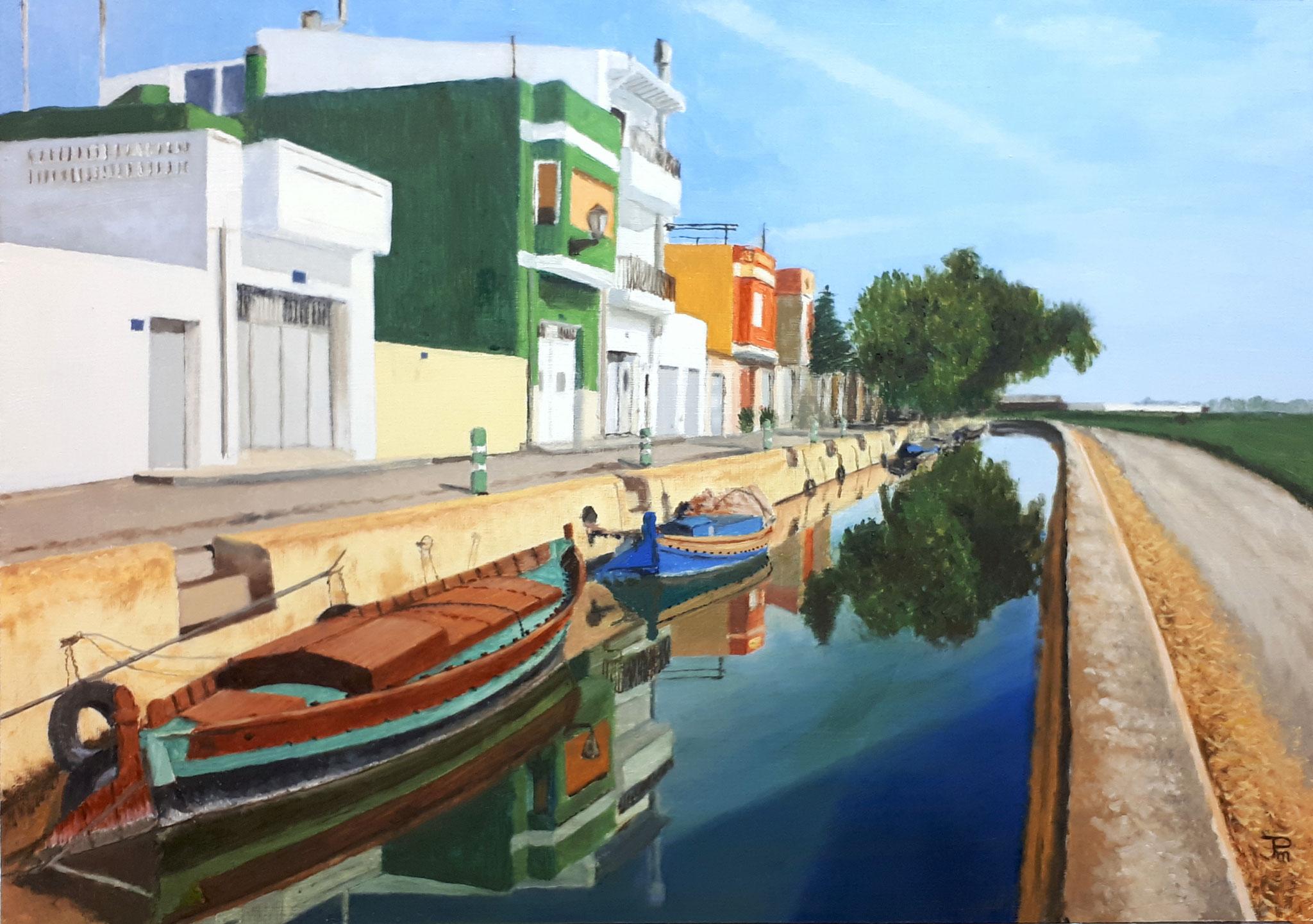 Casas en el Canal de El Palmar
