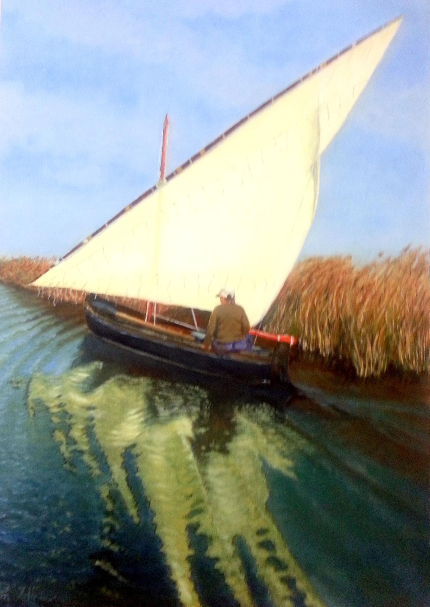 Barca en canal