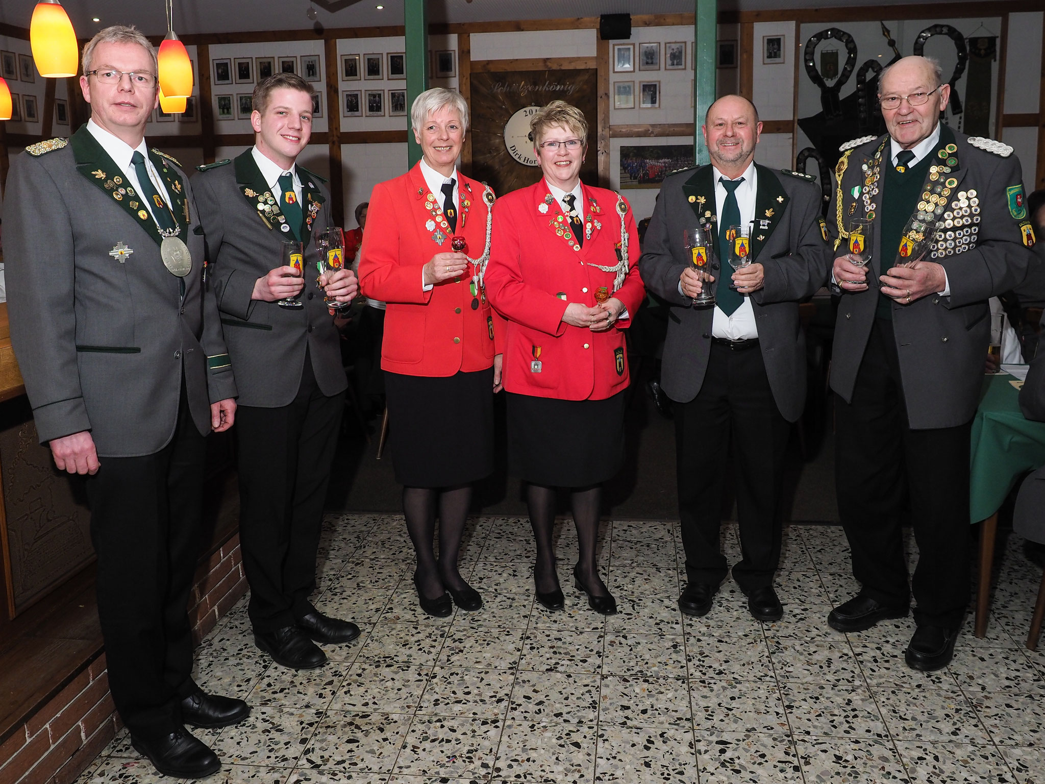 Gewinner der Römerpokale und Königshumpen (Foto: J.Blechner)