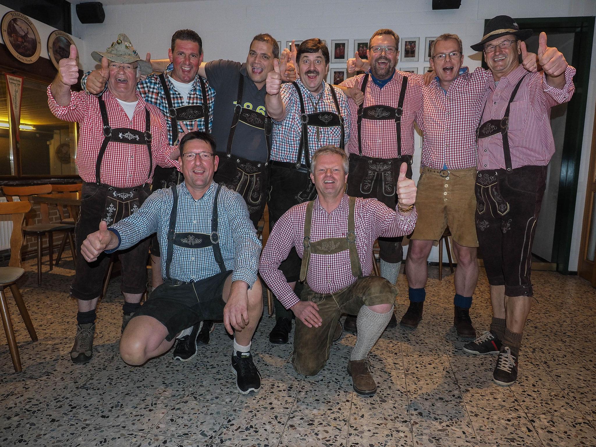 Die Oktoberfest-Crew