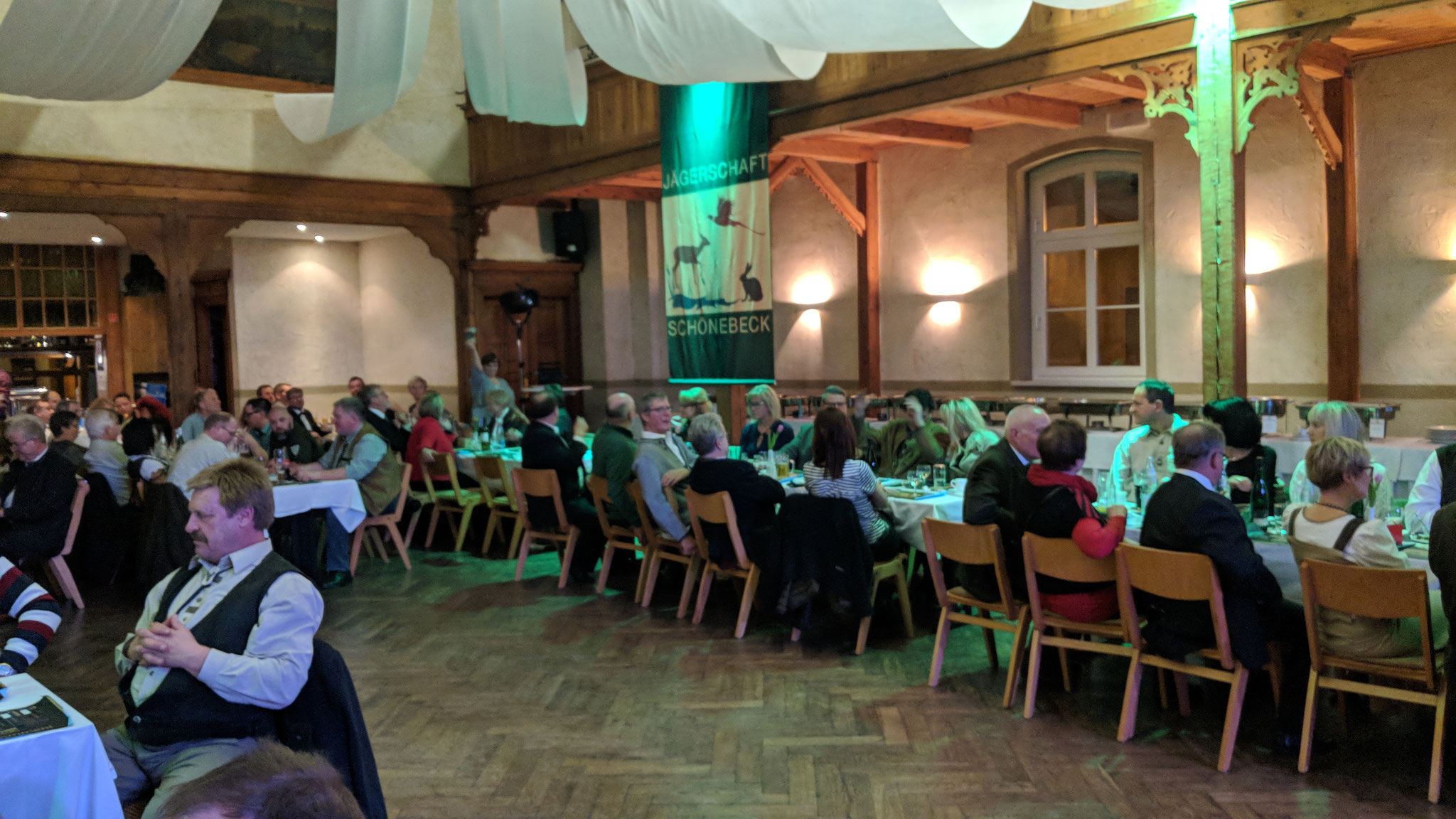 Jägerball 2018 der Jägerschaft Schönebeck