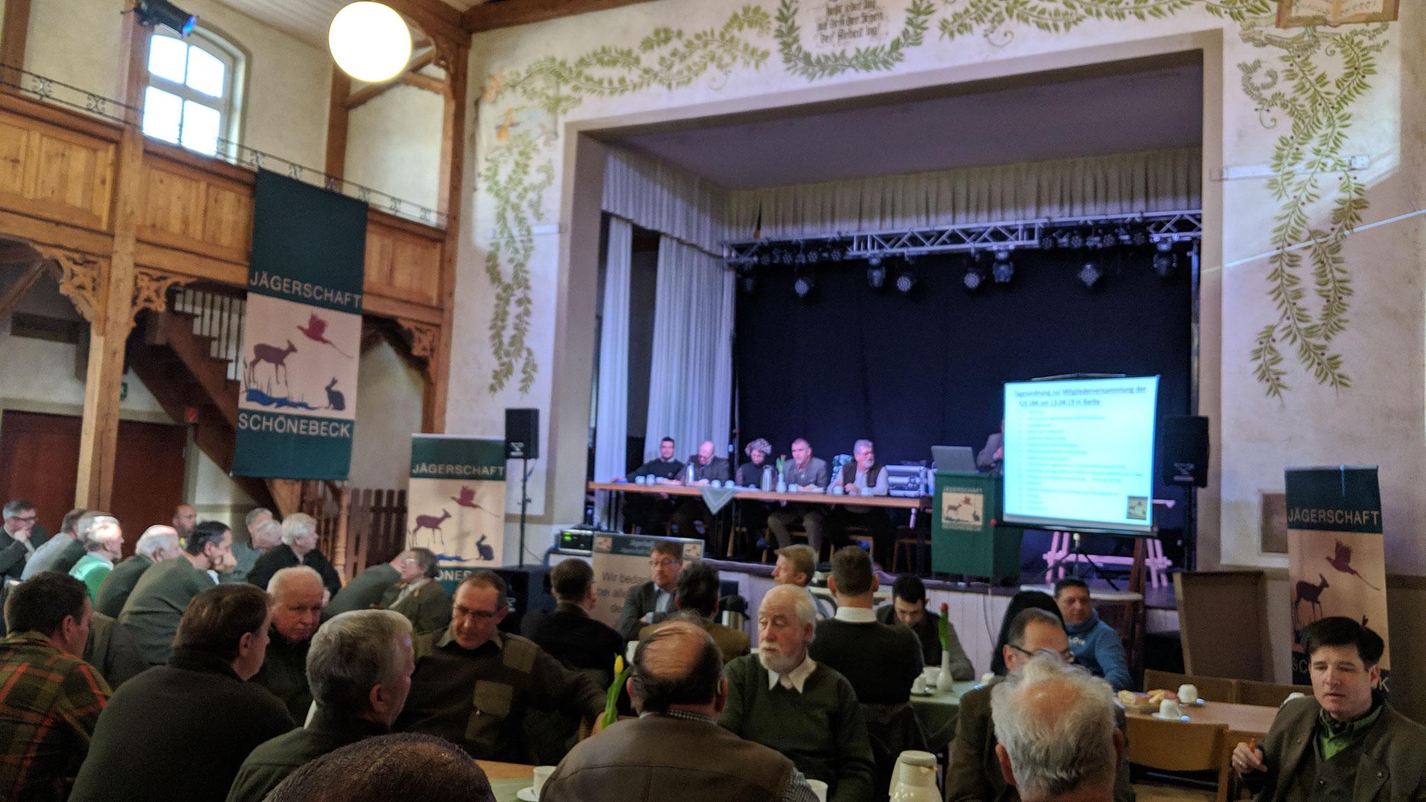 Unter anderem hielt Detlef Gürth (MdL) der CDU Fraktion einen interessanten Vortrag zur Jahreshauptversammlung.