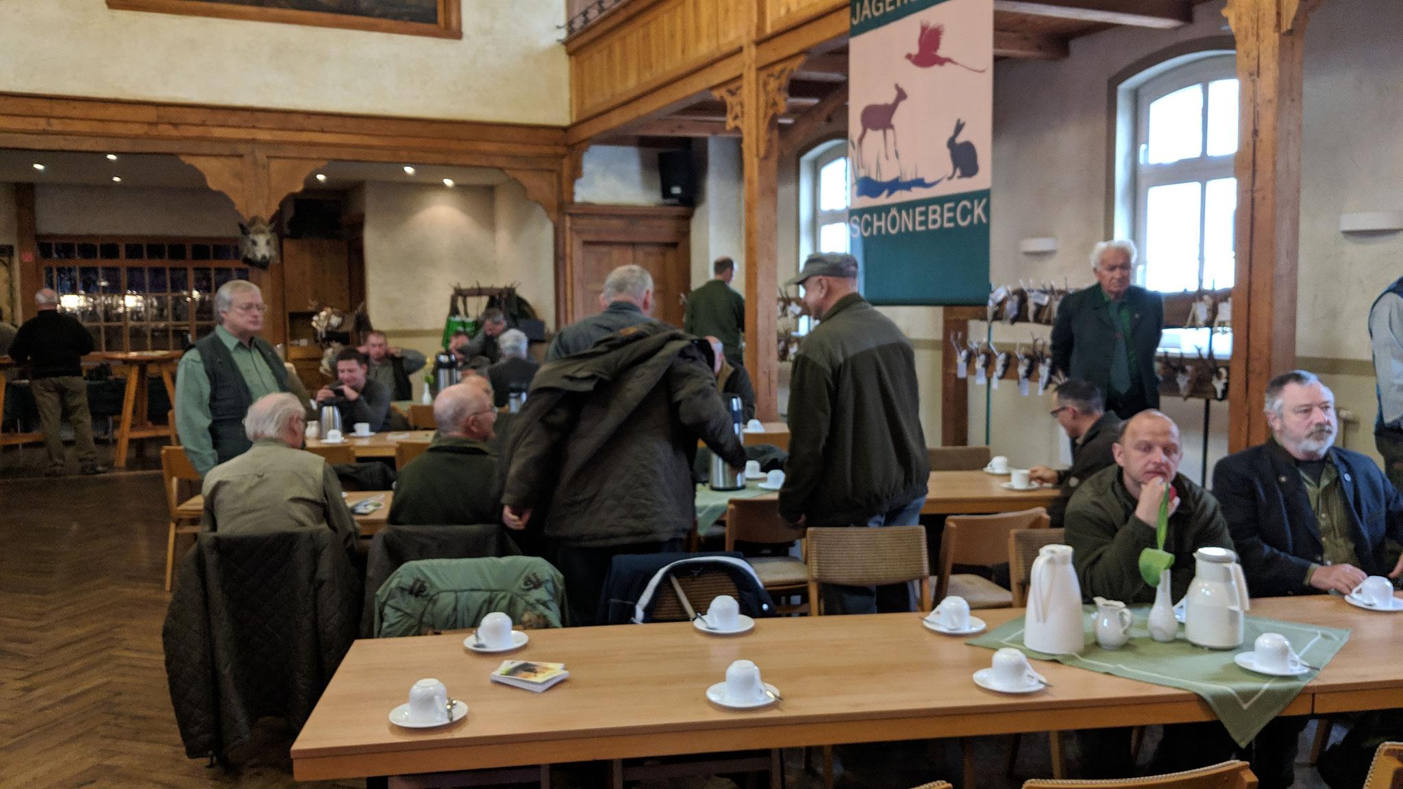 Jahreshauptversammlung der Jägerschaft Schönebeck