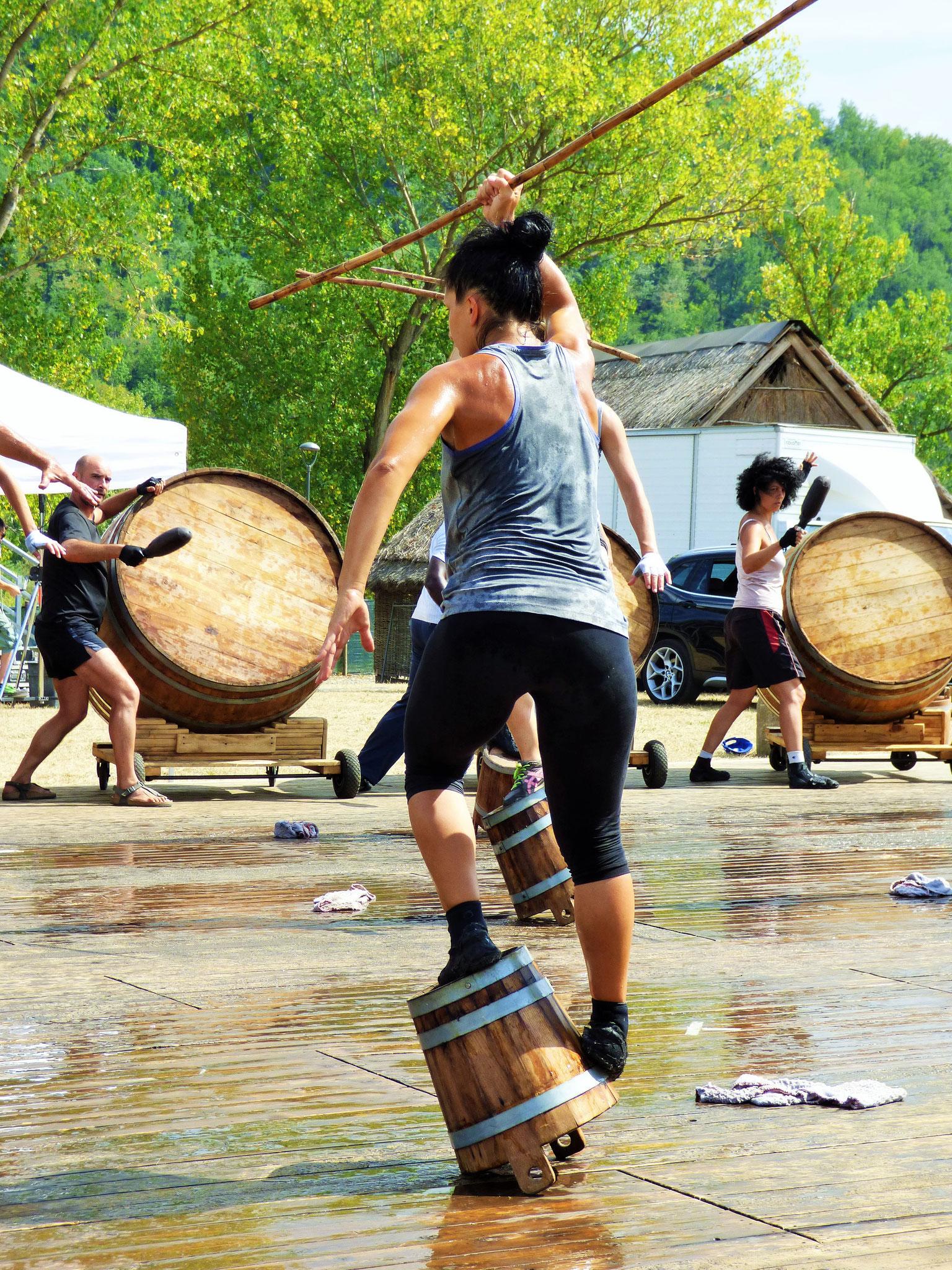 prove generali di Cant'ieri Festival Parco Archeologico Travo (PC)