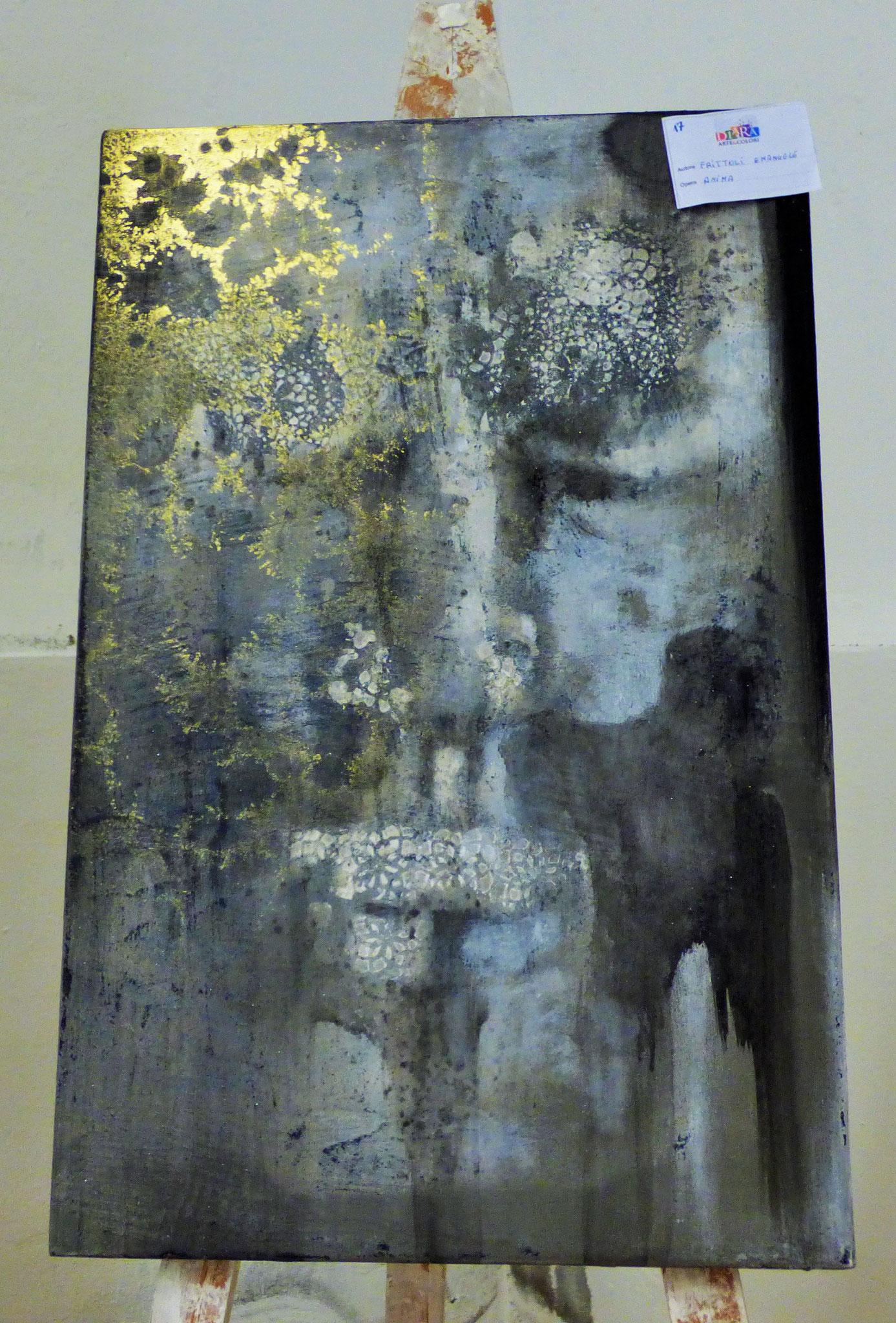 Rivergaro: DIARA Arte & Colori - IV concorso di Pittura ed.2018 - Frittoli Emanuele  - Anima