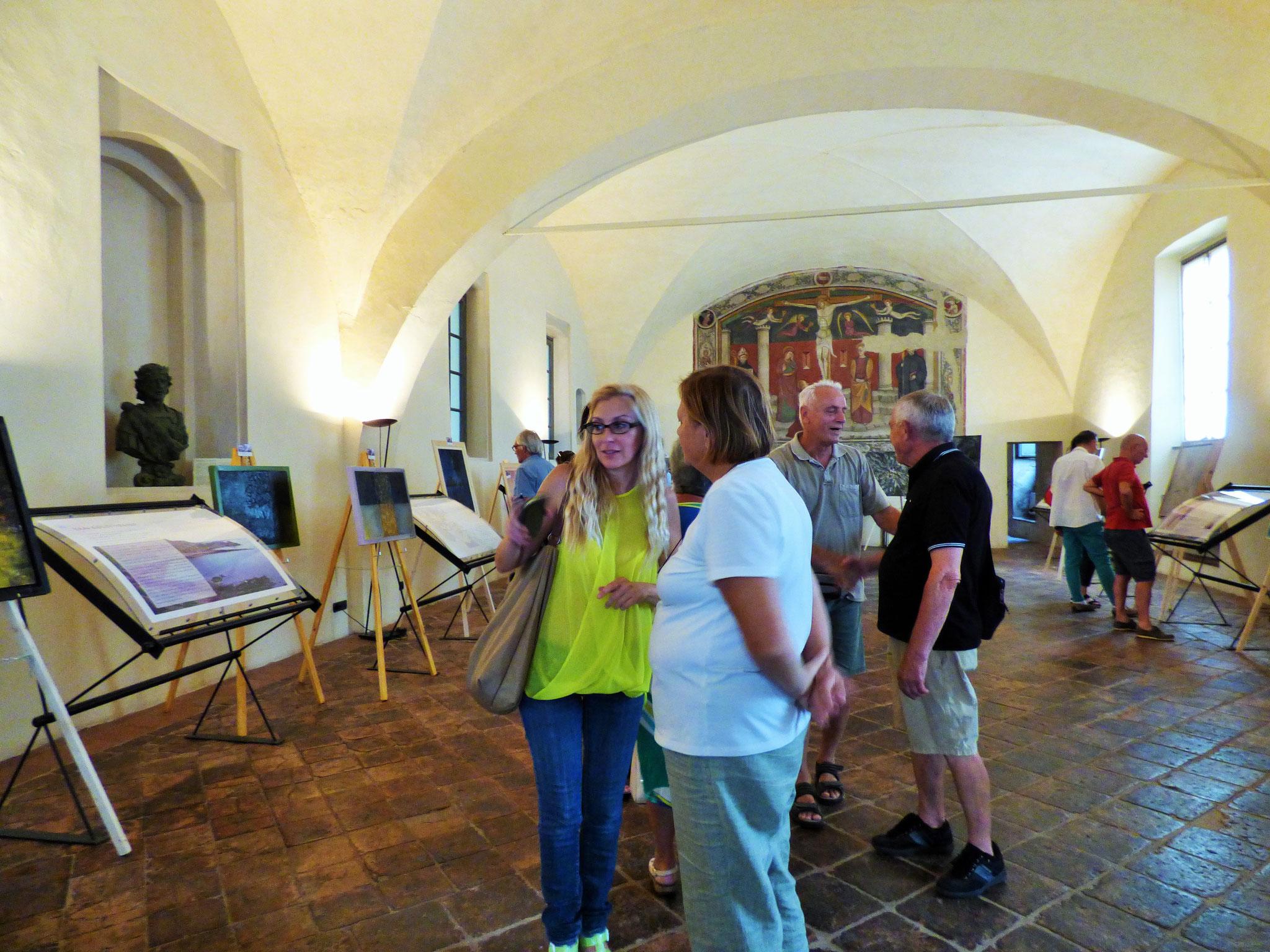 """Mostra Arte e nuovi dialoghi """"LUCE"""" - Museo della città 16-26 agosto BOBBIO"""