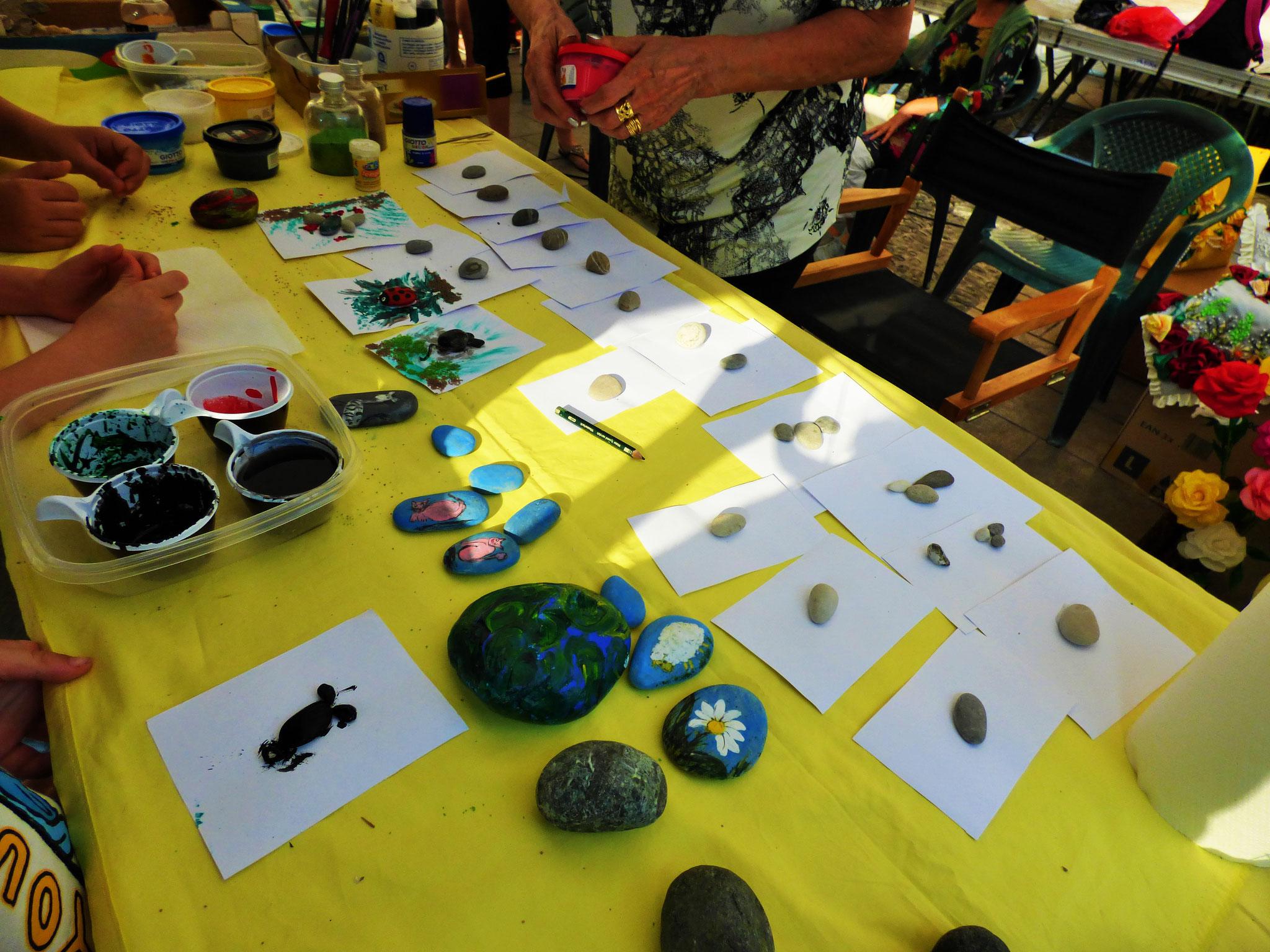 Bobbio 16 agosto  ArTre in piazza con Laboratori creativi  e mercatino artigianale