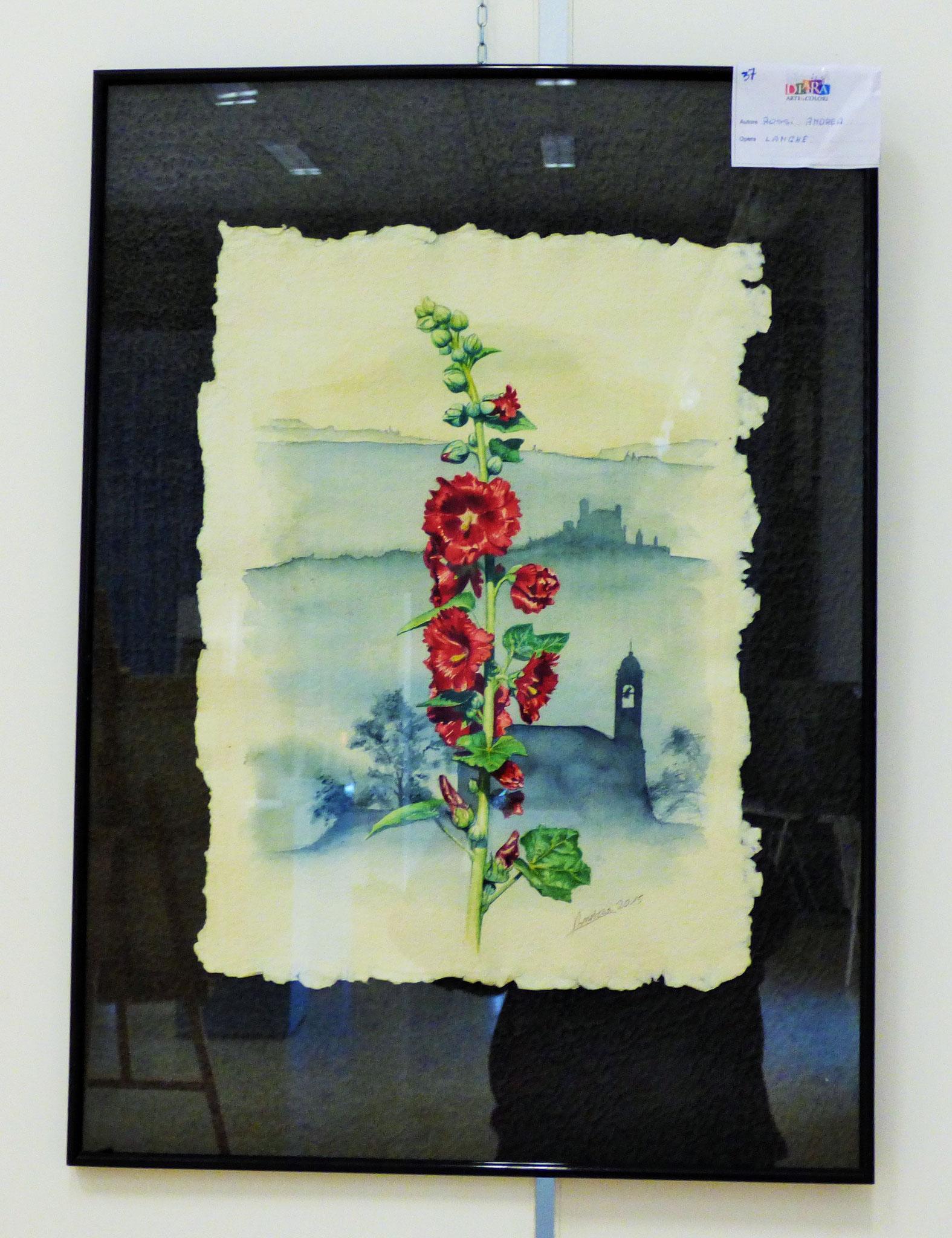 Rivergaro: DIARA Arte & Colori - IV concorso di Pittura ed.2018 - Rossi Andrea  - Langhe