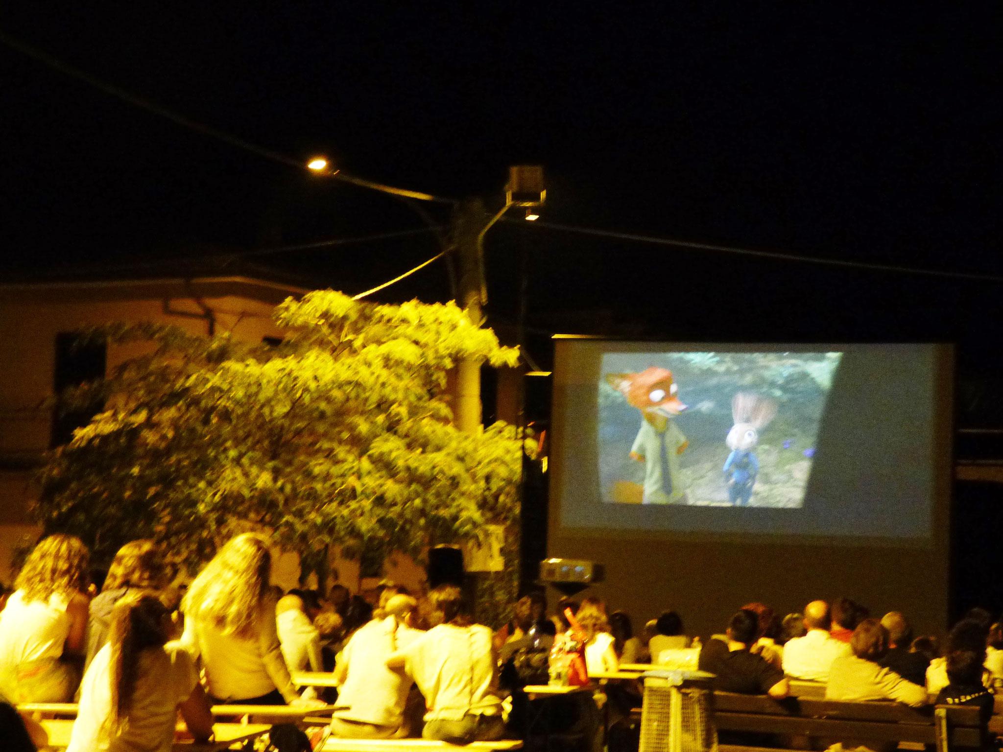 cinema sotto le stelle 9 agosto 2016 Pigazzano di Travo