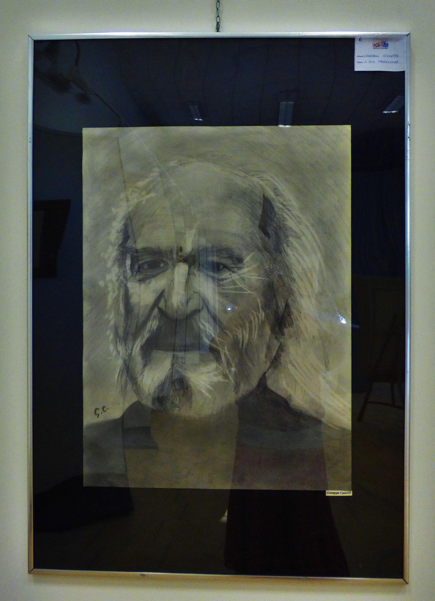 Rivergaro: DIARA Arte & Colori - IV concorso di Pittura ed.2018 - Casaroli Giuseppe - Il Mio Professore