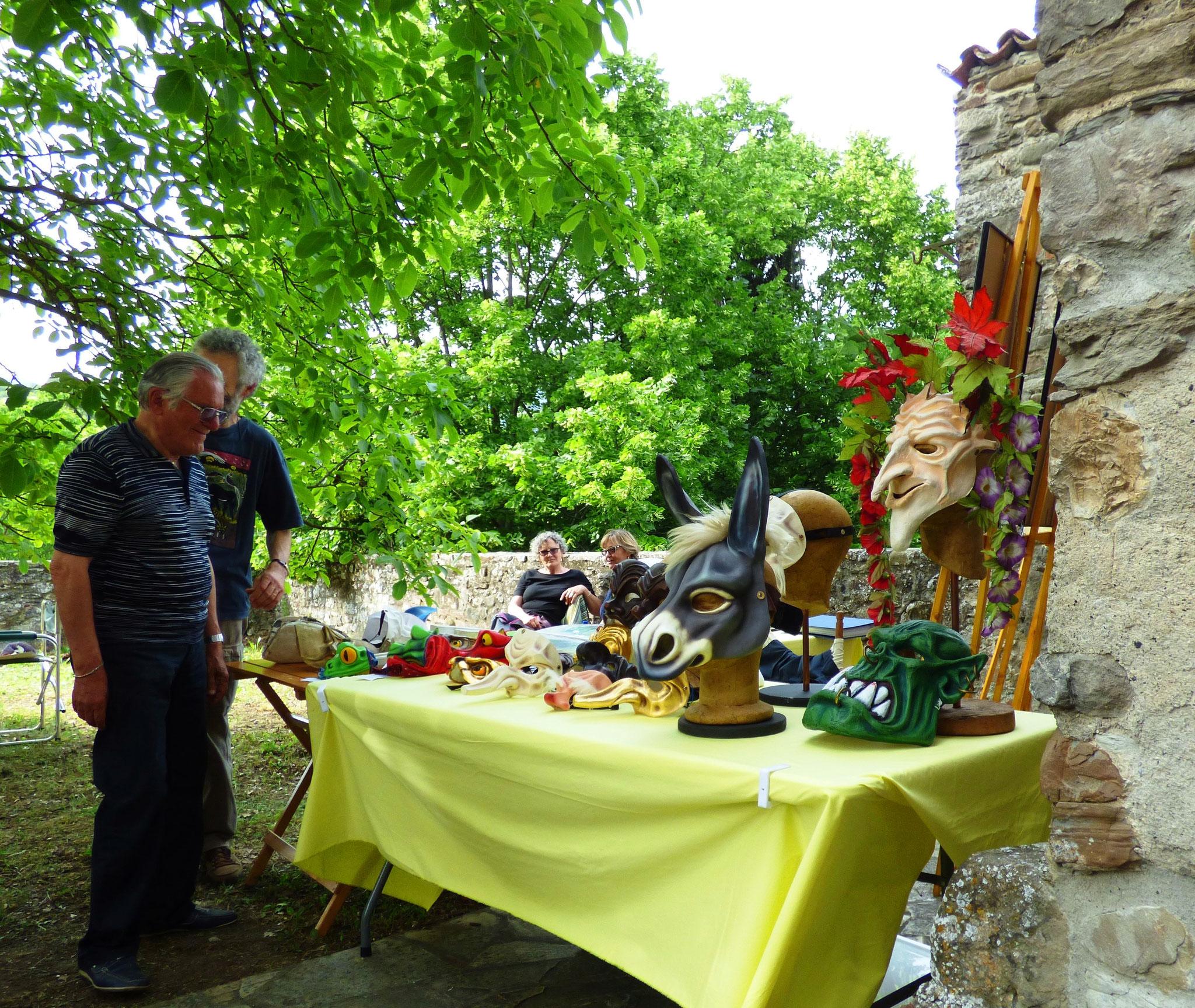Andrea Rossi Artre : Bobbio - Il Castello in Fiore II ed. 28 -29 maggio 2016