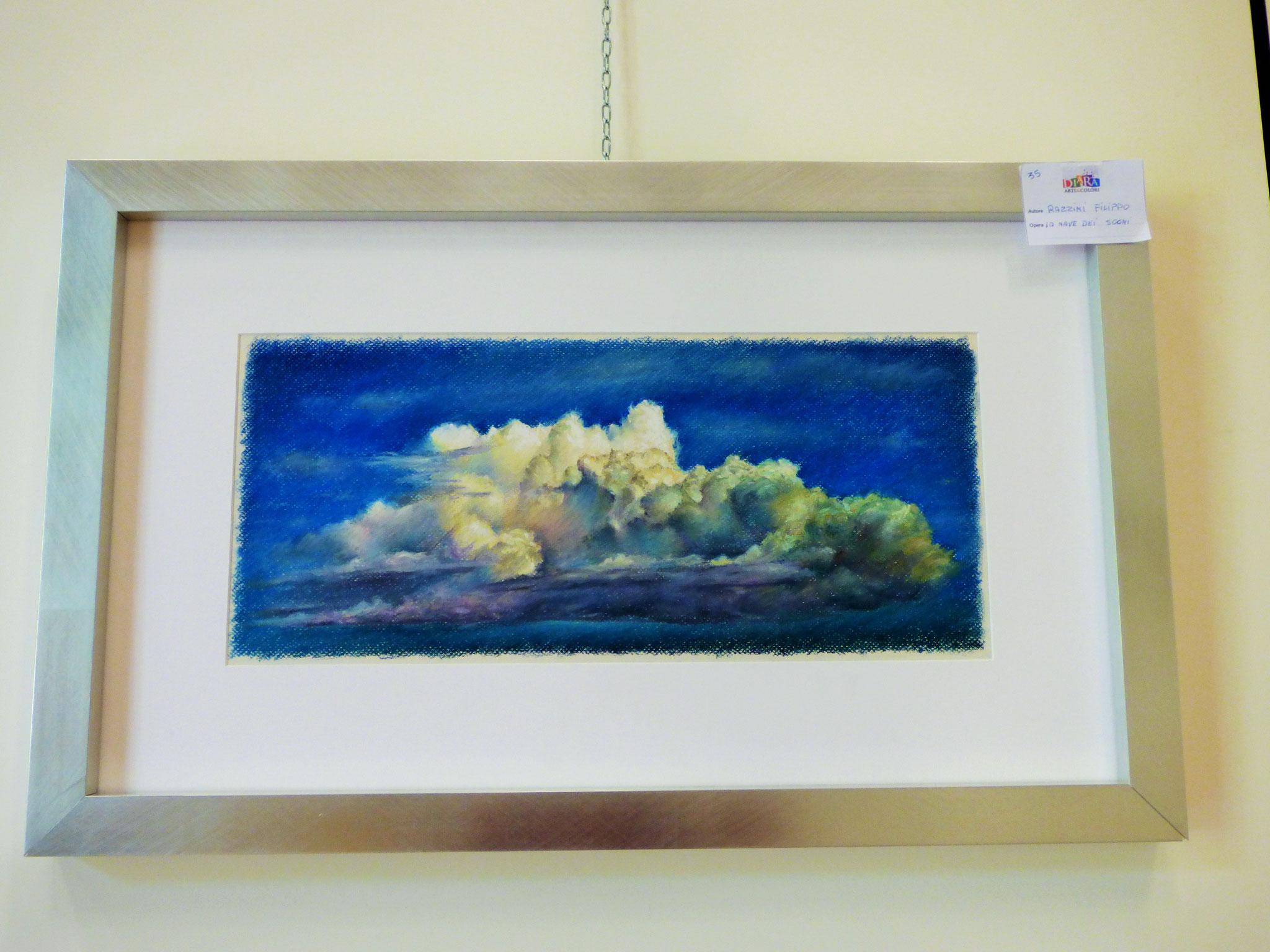 Rivergaro: DIARA Arte & Colori - IV concorso di Pittura ed.2018 - Razzini Filippo - La nave dei sogni