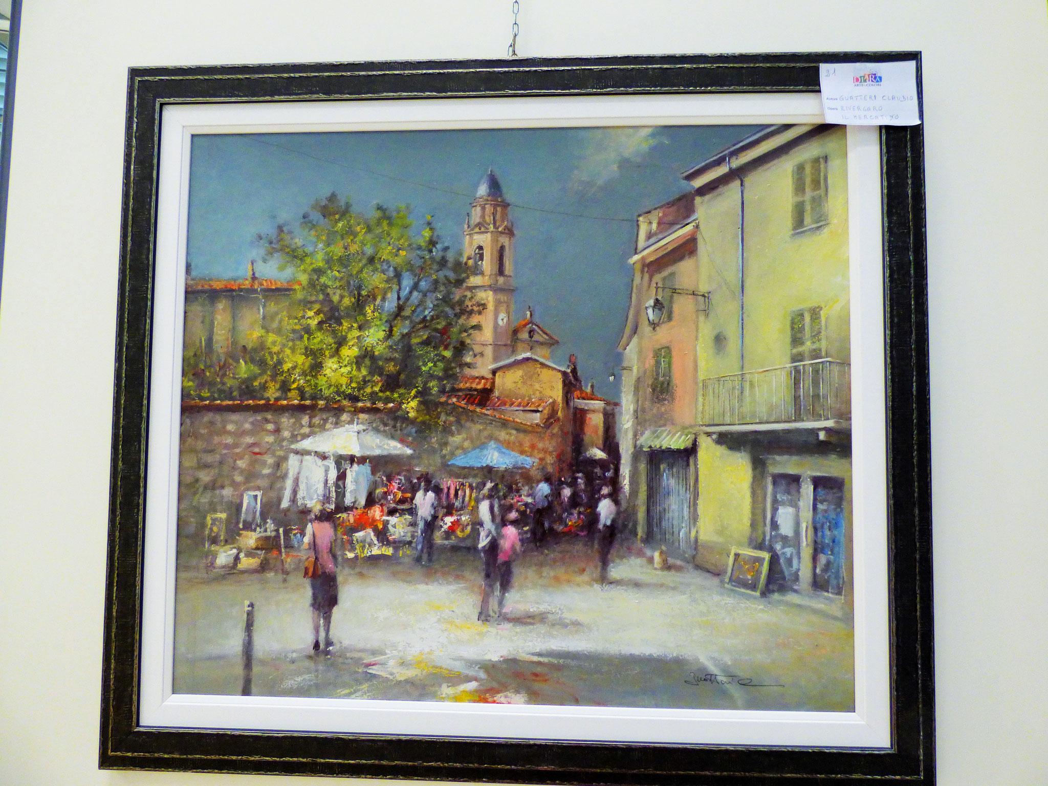 Rivergaro: DIARA Arte & Colori - IV concorso di Pittura ed.2018 - Guatteri Claudio - Rivergaro il Mercatino