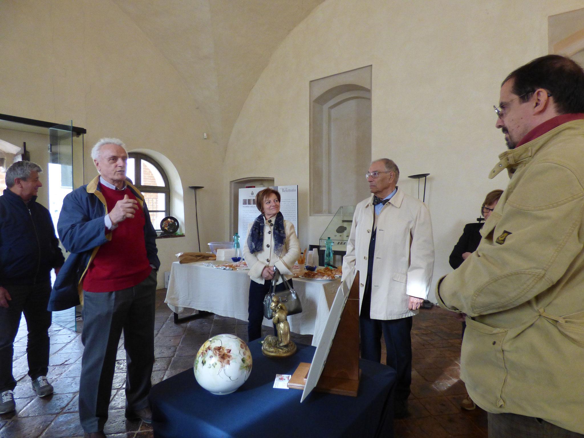 ArTre ... IN MOSTRA dal 18 al 30 aprile a Bobbio - Museo della Città Mostra di Anna Schiavi e Sergio Croci CERAMISTI ArTre