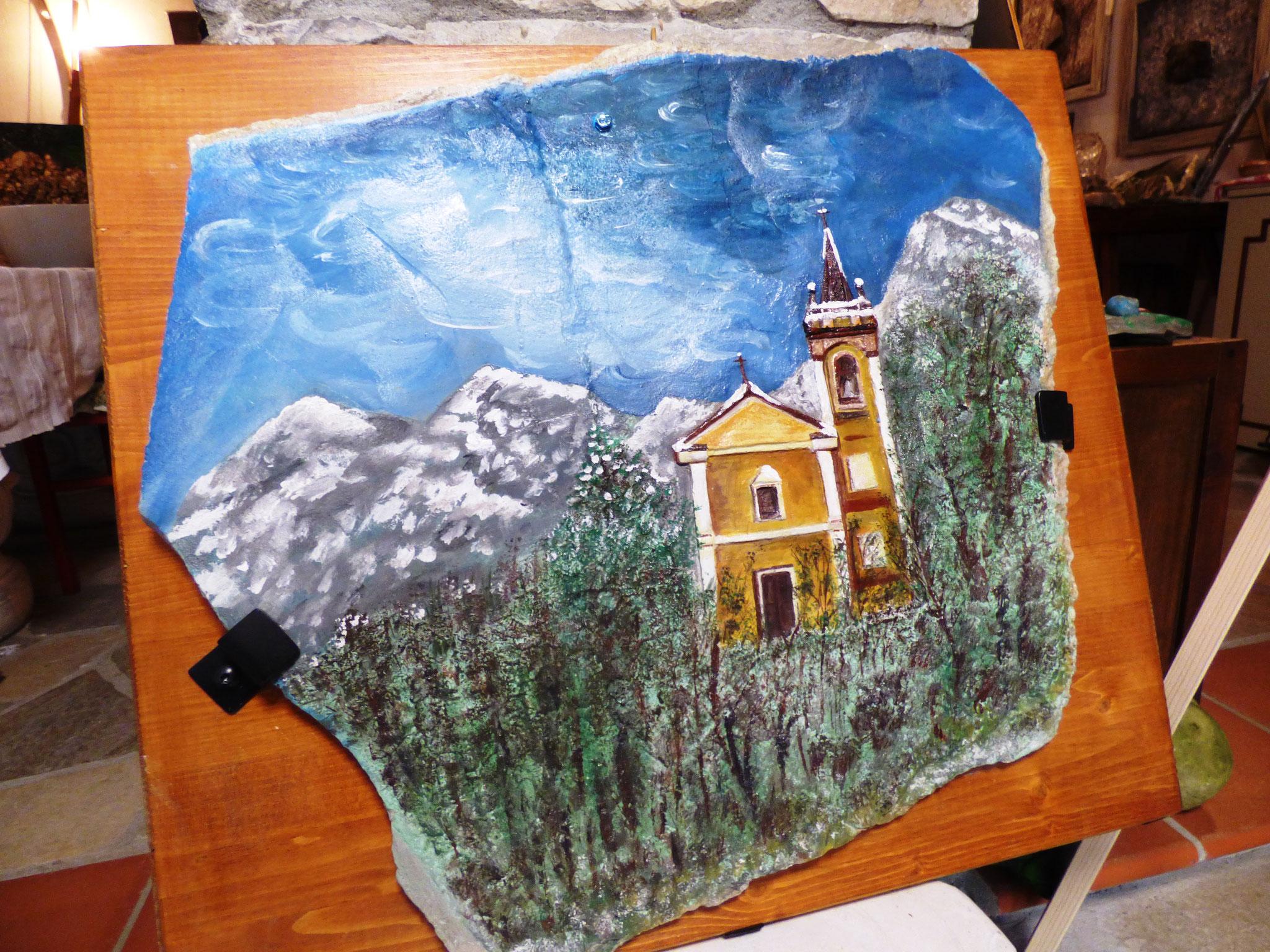 Viaggio in un piccolo borgo dell'appennino dove la roccia mostra la sua Anima con Alberta Franzini