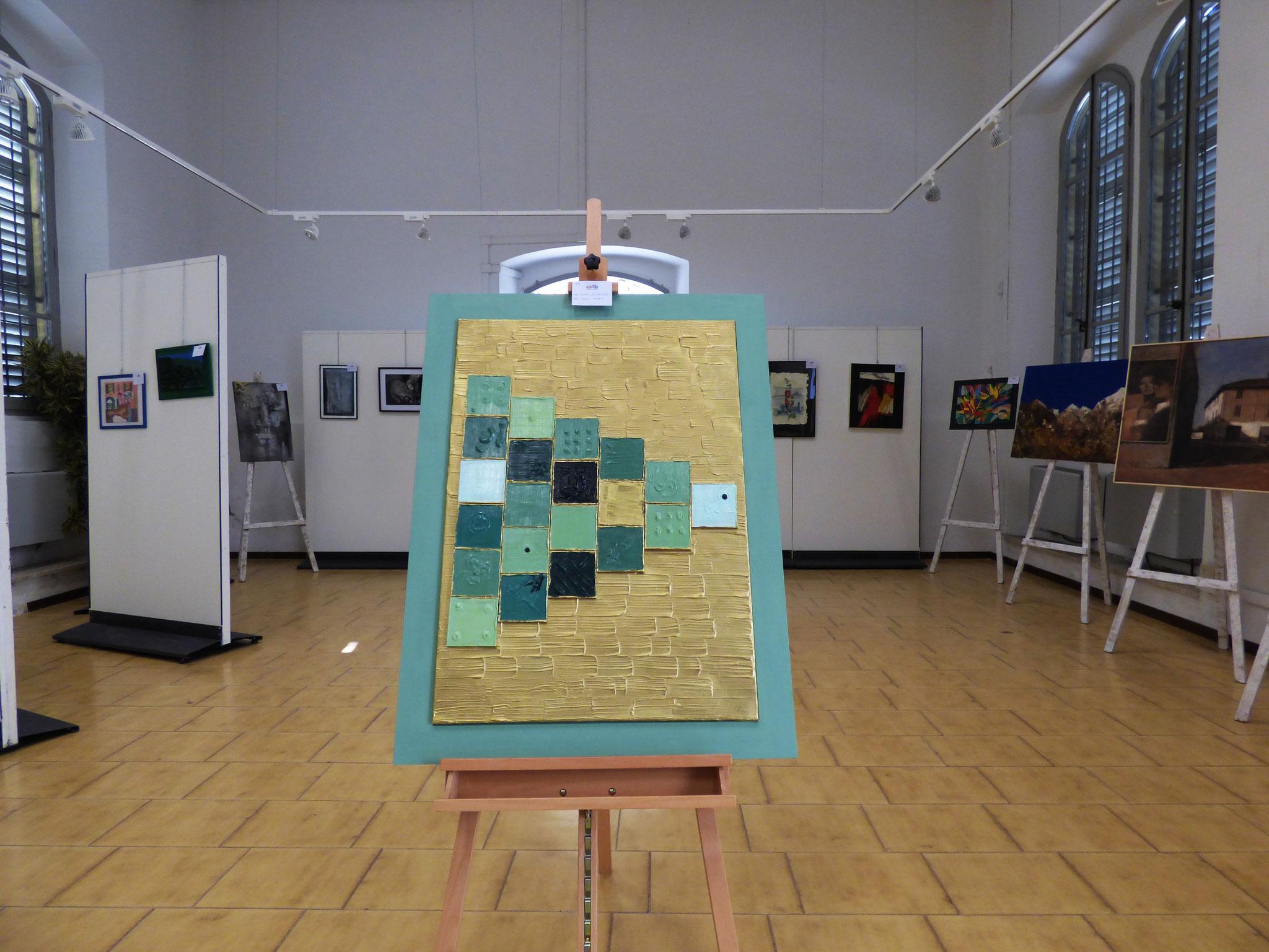 Rivergaro: DIARA Arte & Colori - IV concorso di Pittura ed.2018 - Ratti Graziana - Nuova Babele