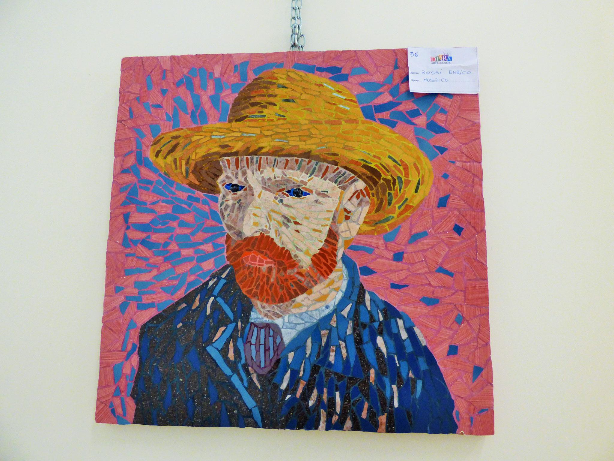 Rivergaro: DIARA Arte & Colori - IV concorso di Pittura ed.2018 - Rossi Enrico - Mosaico