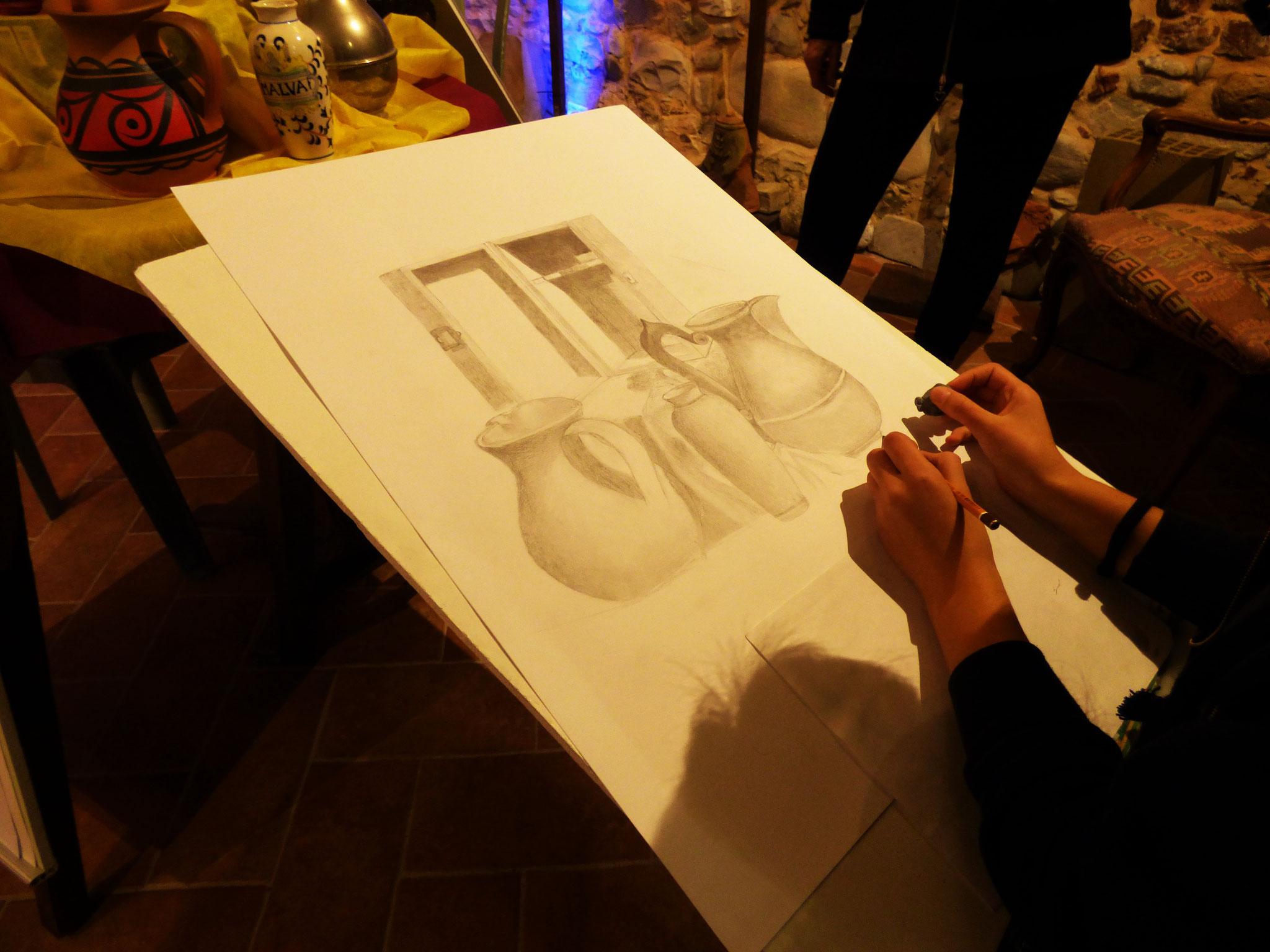 """ARTE IN BOTTEGA""     NEL NUOVO SPAZIO ARTISTICO DI RIVERGARO  VIA SOPRA RIVO 22 DIARA - Rivergaro (PC)"