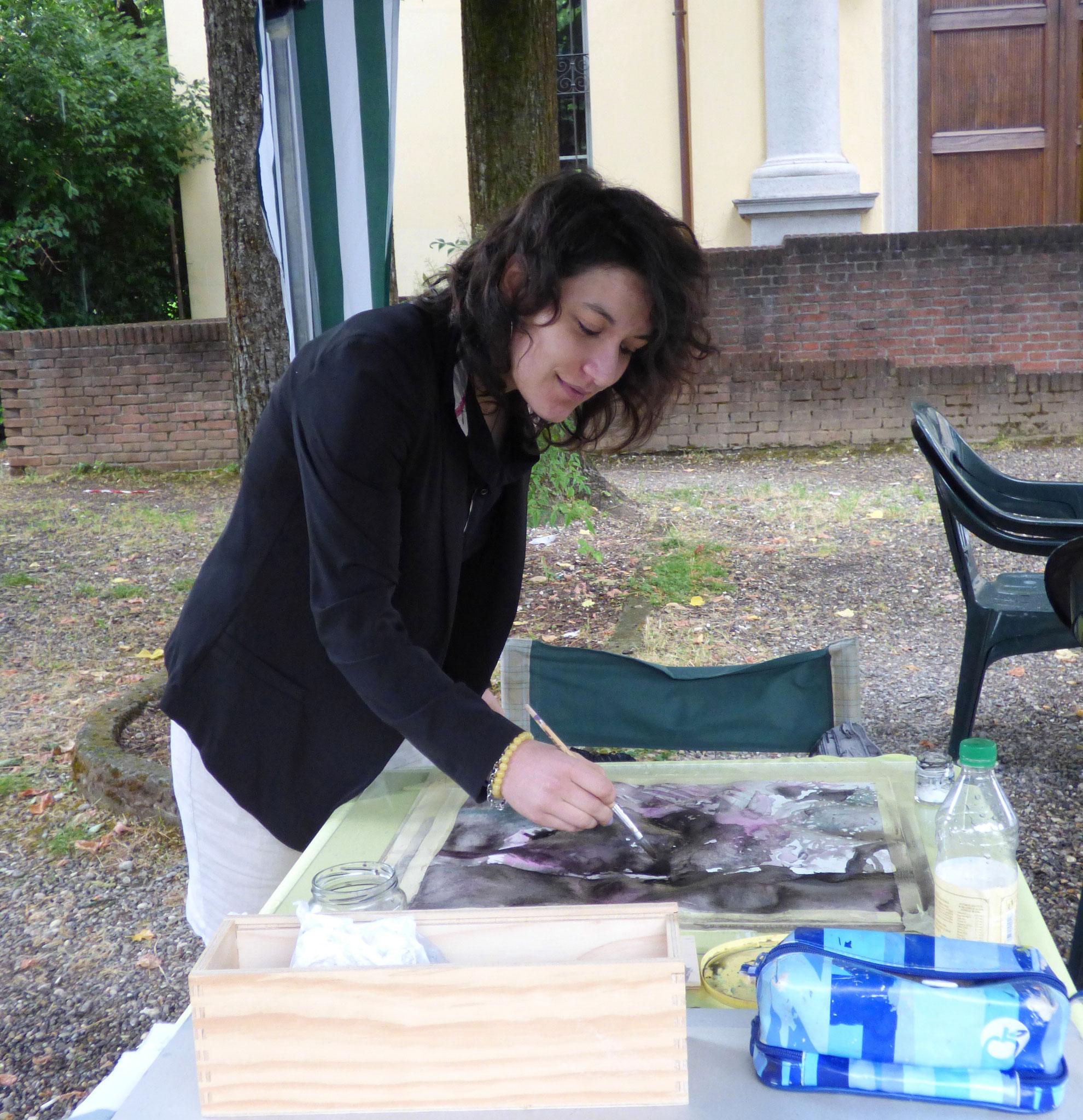 Laura Verardi a DIARA 4 giugno 2016