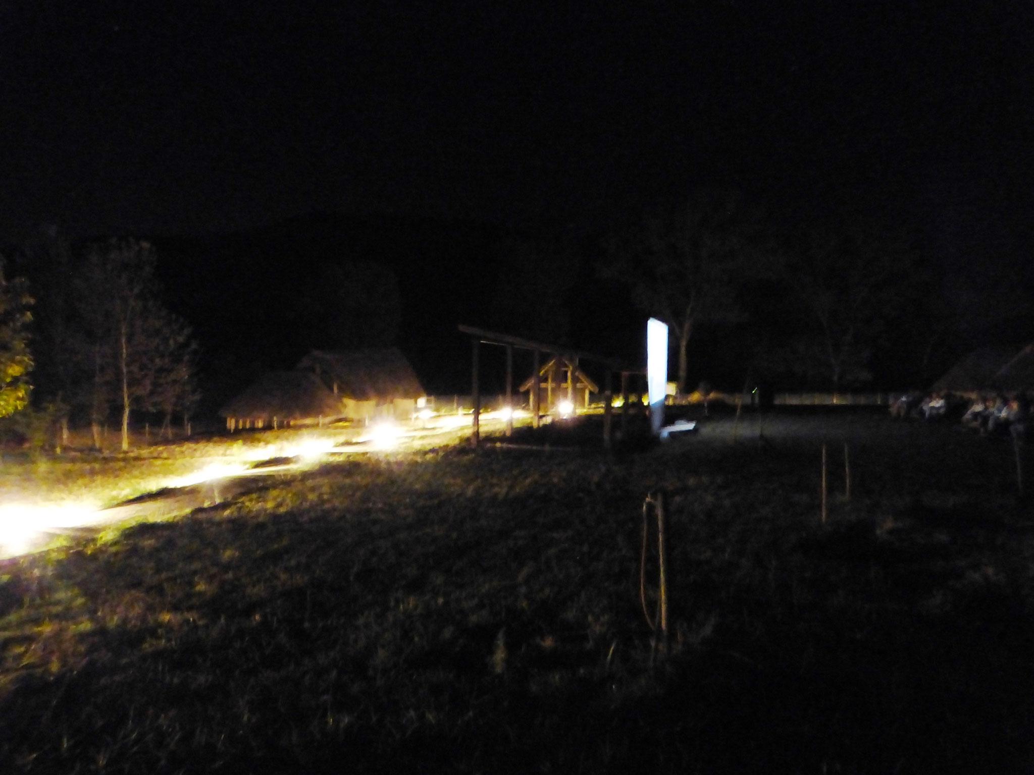 cinema sotto le stelle - Parco Archeologico di Travo 23 agosto 2016
