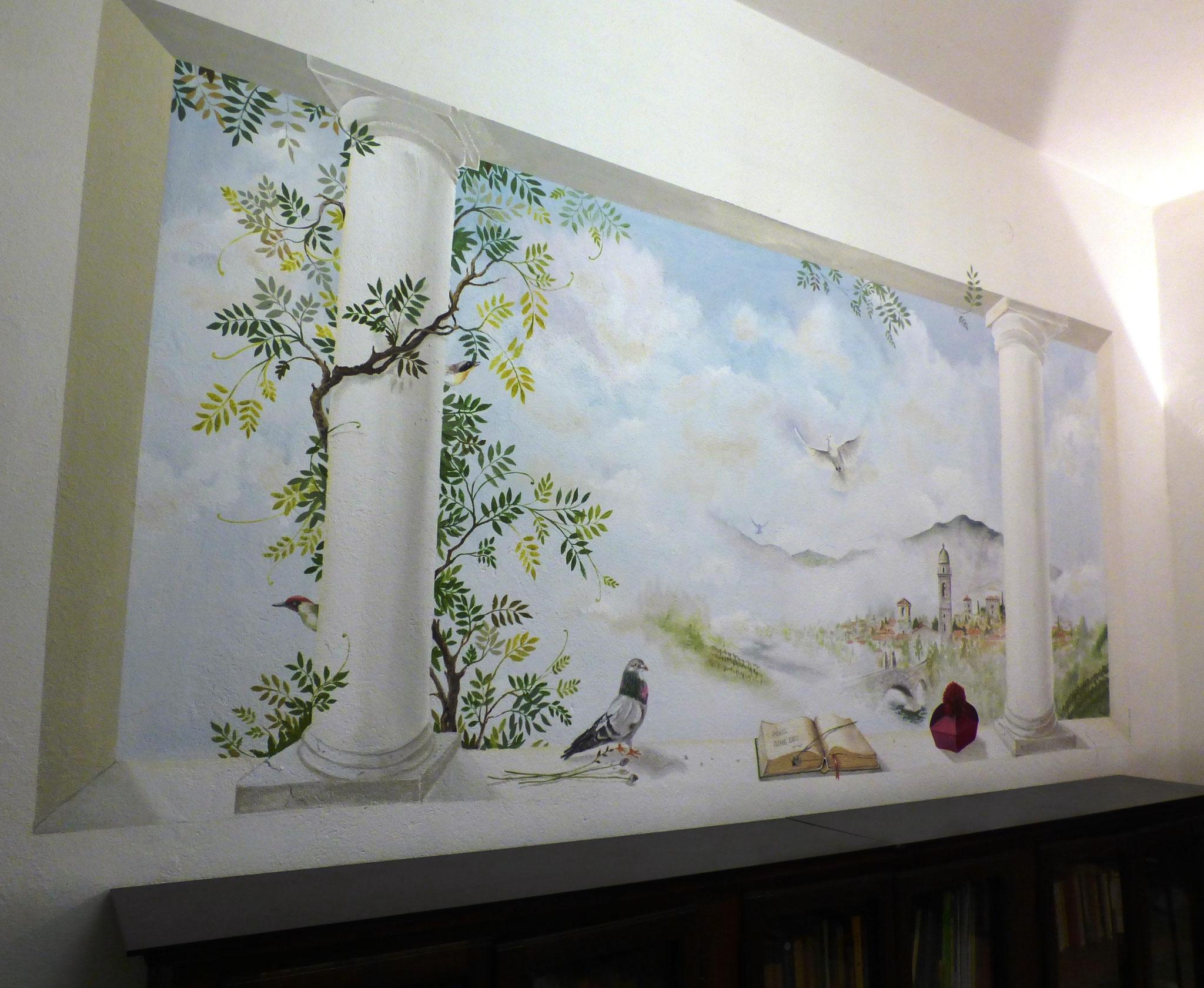 particolari del lavoro svolto dai corsisti di ArTre Artigiani Creativi Val Trebbia al seminario di Bobbio docente Susy Renzi