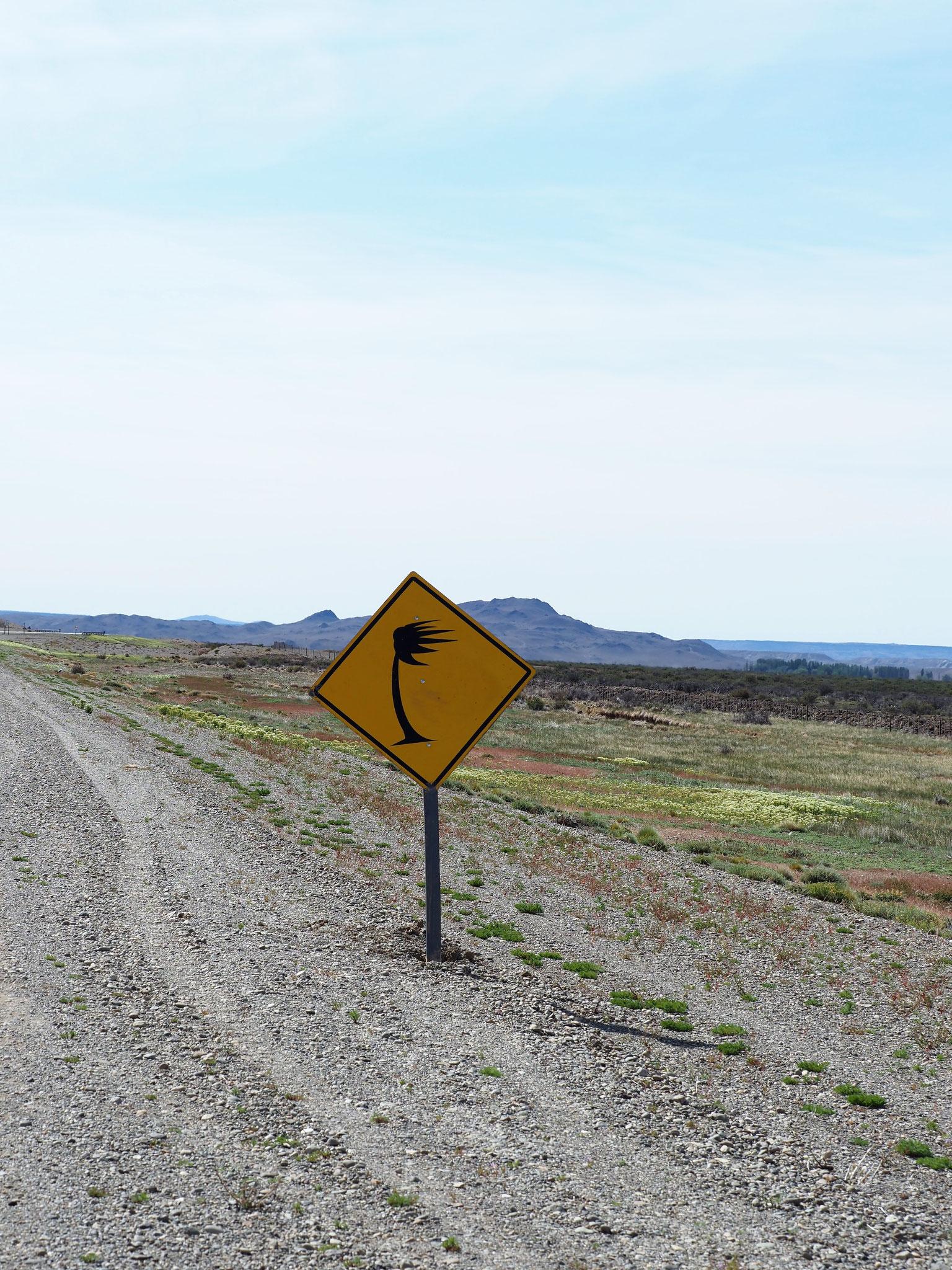 Patagonien und der Wind