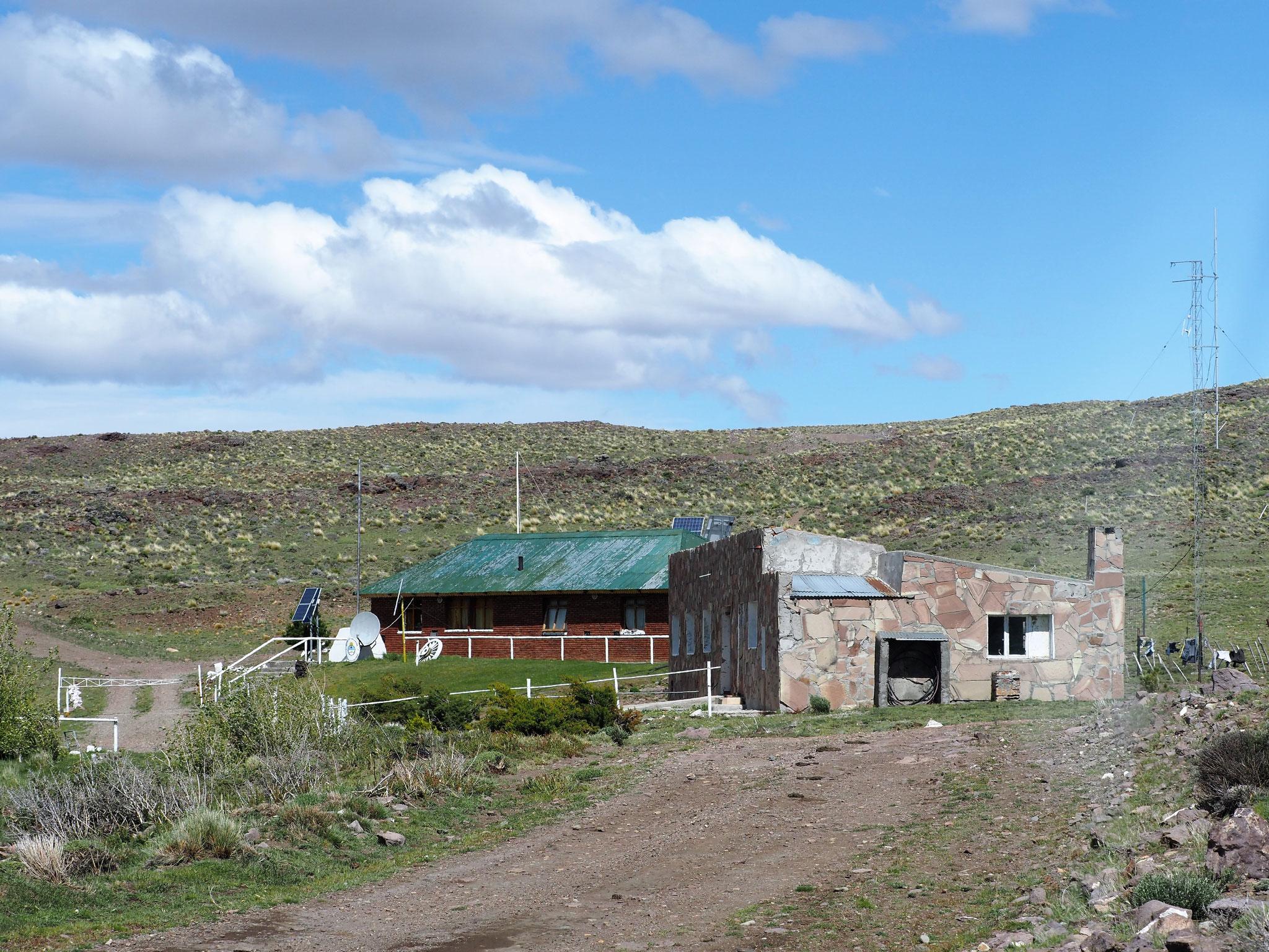 Grenze Chile - Argentinien auf dem Paso Roballos