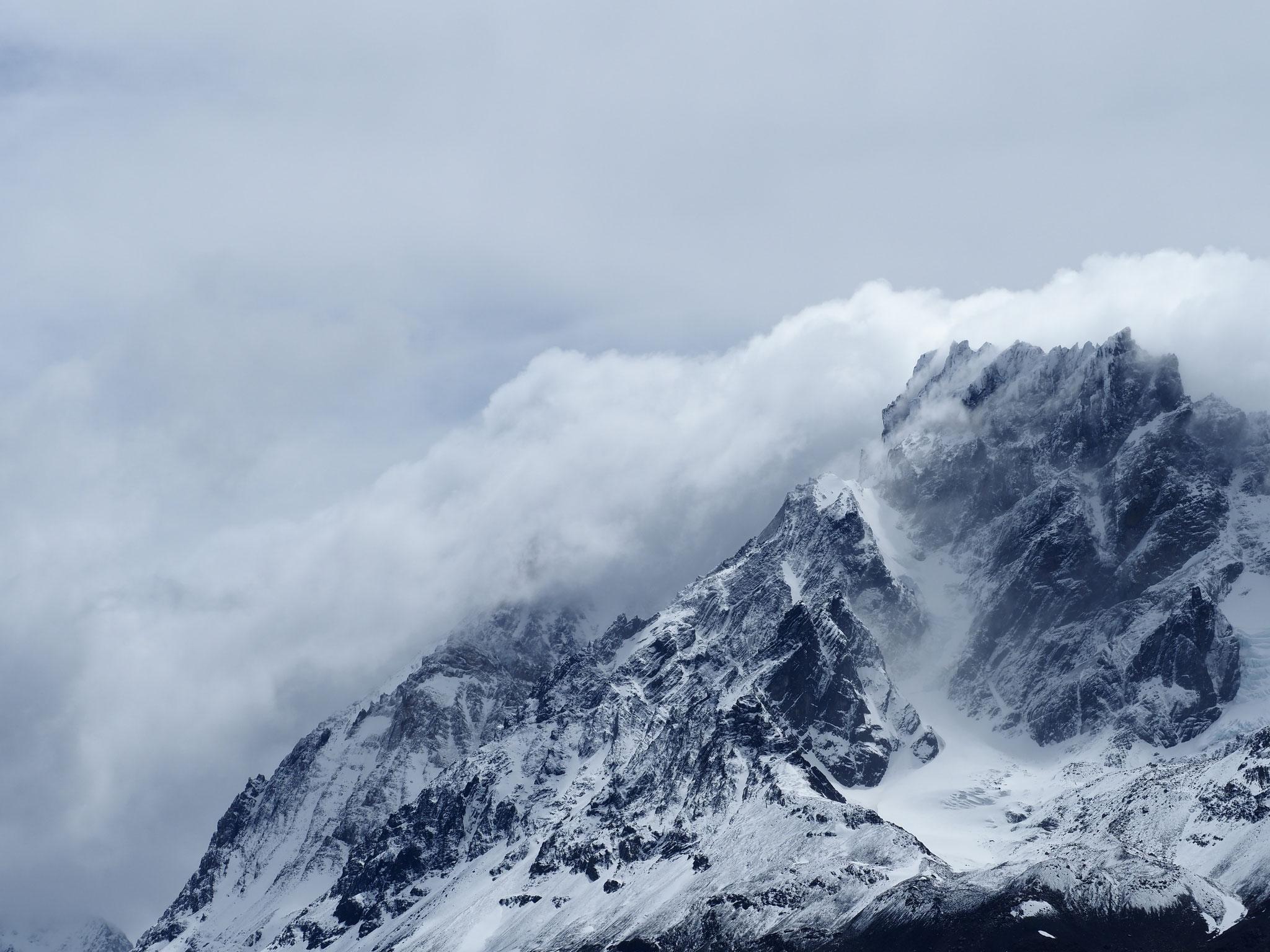 """""""Wetterstimmung"""" im Torres del Paine Nationalpark"""