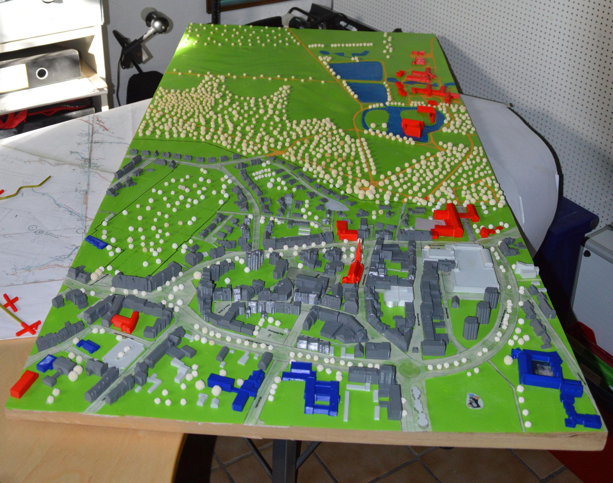 Die fertige Version des 4. Moduls (Hertener Innenstadt) - Übertage