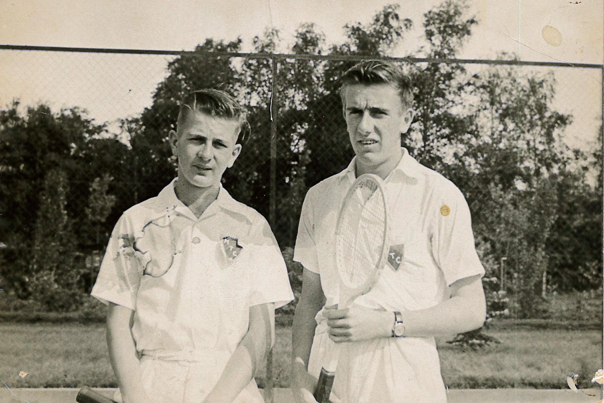 Bernard en Claude Raucy 1953