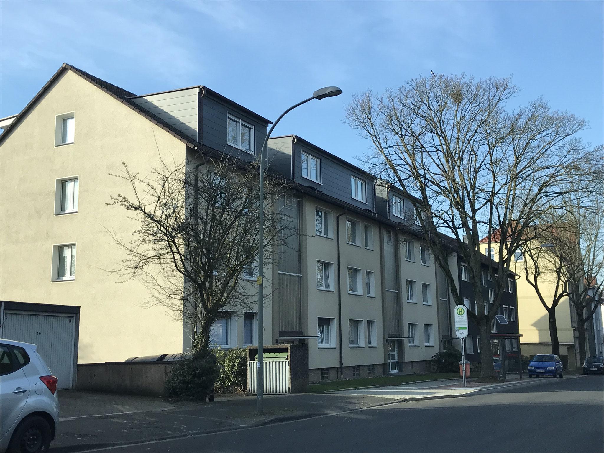 Gauben mit Rockpanel verkleidet in Bochum-Langendreer