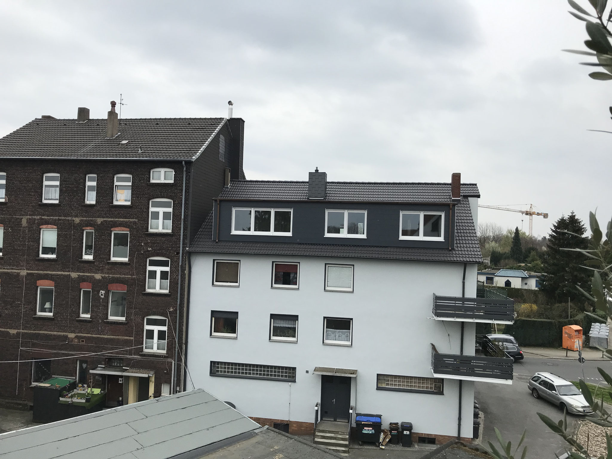 Großer Gaubenausbau in Bochum Weitmar-Mark