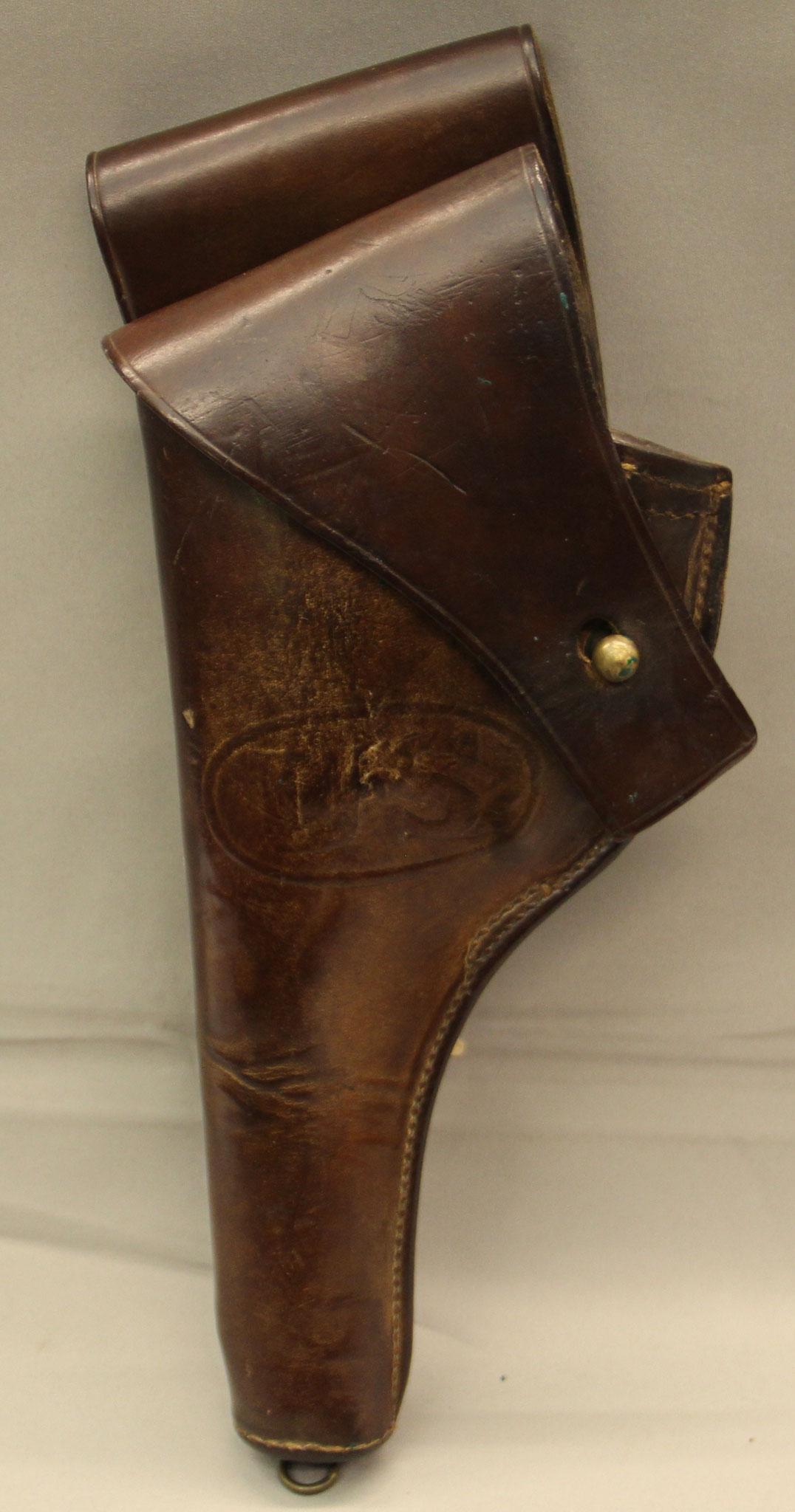 US M1917 holster voor Colt en S&W .45 revolvers. € 250,-