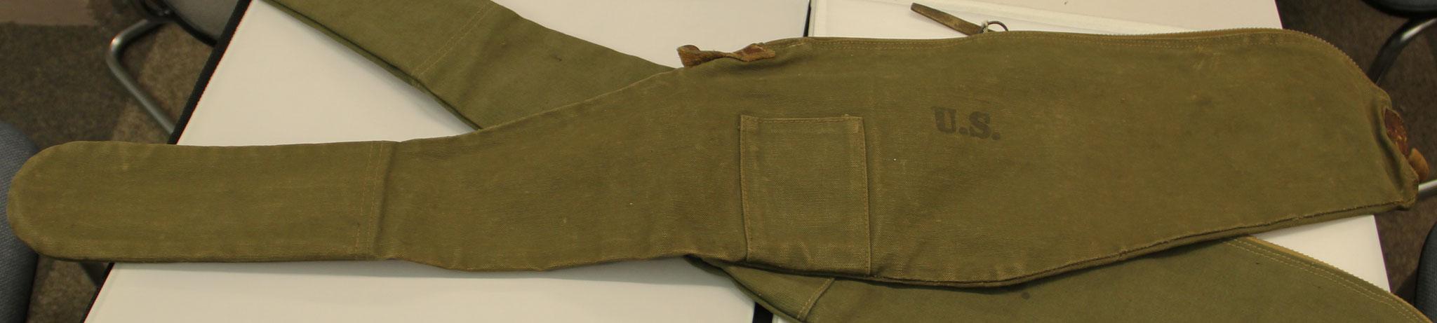 Originele WW II .30M1 karabijn hoezen. Vanaf € 175,-