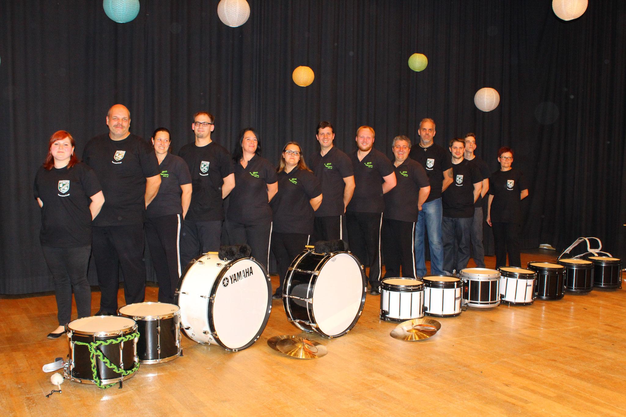 Drum Corps des Spielmannszug Kurpfalz 1956 e.V. und Musikverein Oggersheim 1975 e.V.