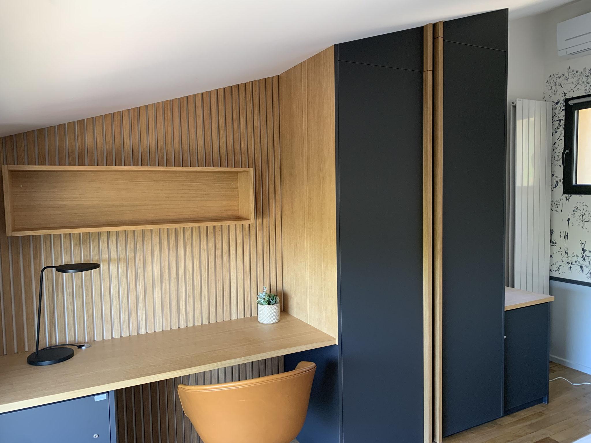 Aménagement bureau par Flora Boscher   Architecte d'intérieur   Var
