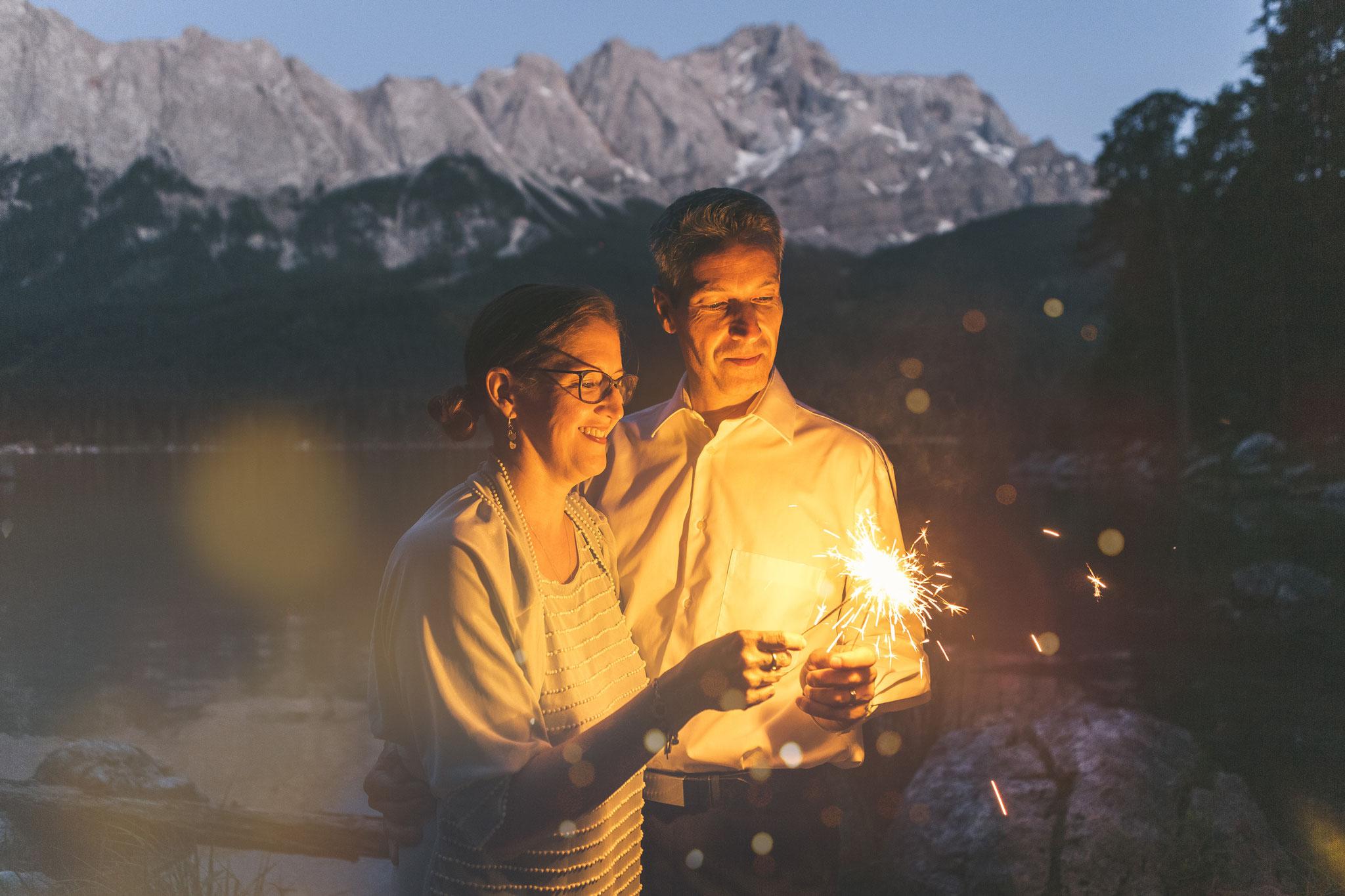 internationale Hochzeitsfotos an der Zugspitze