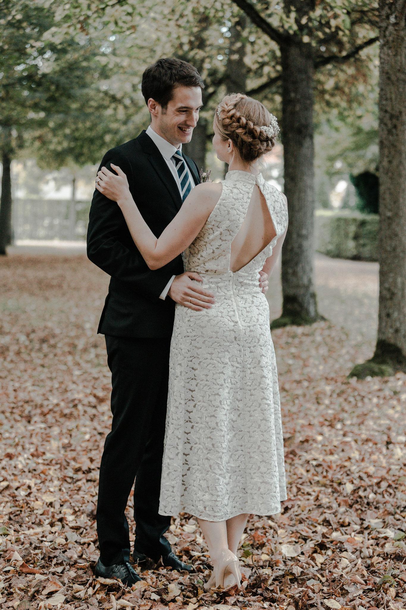 Hochzeitsfotos Orangerie & Hofgarten Ansbach
