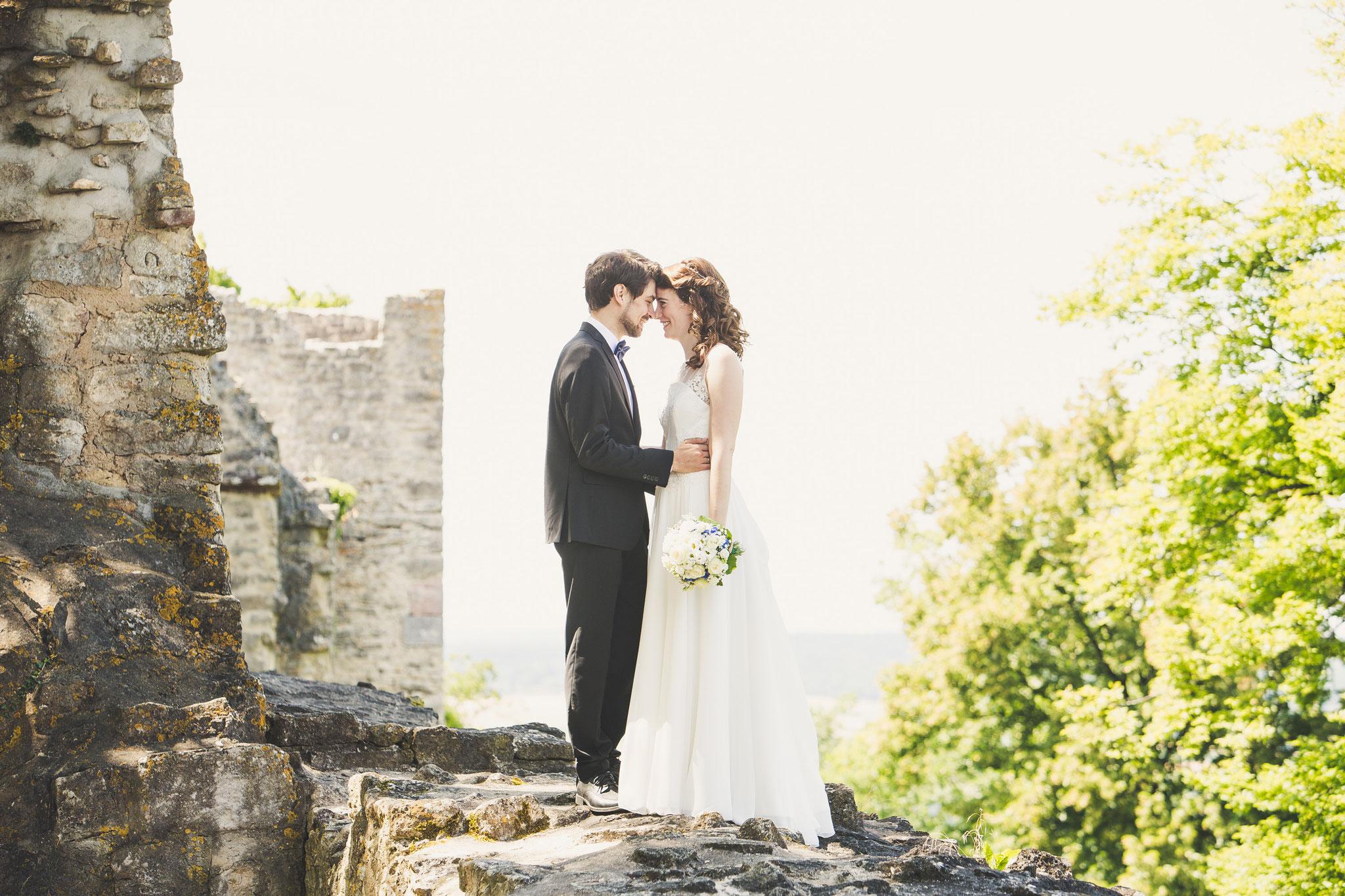 Hochzeitsfotos Burgruine