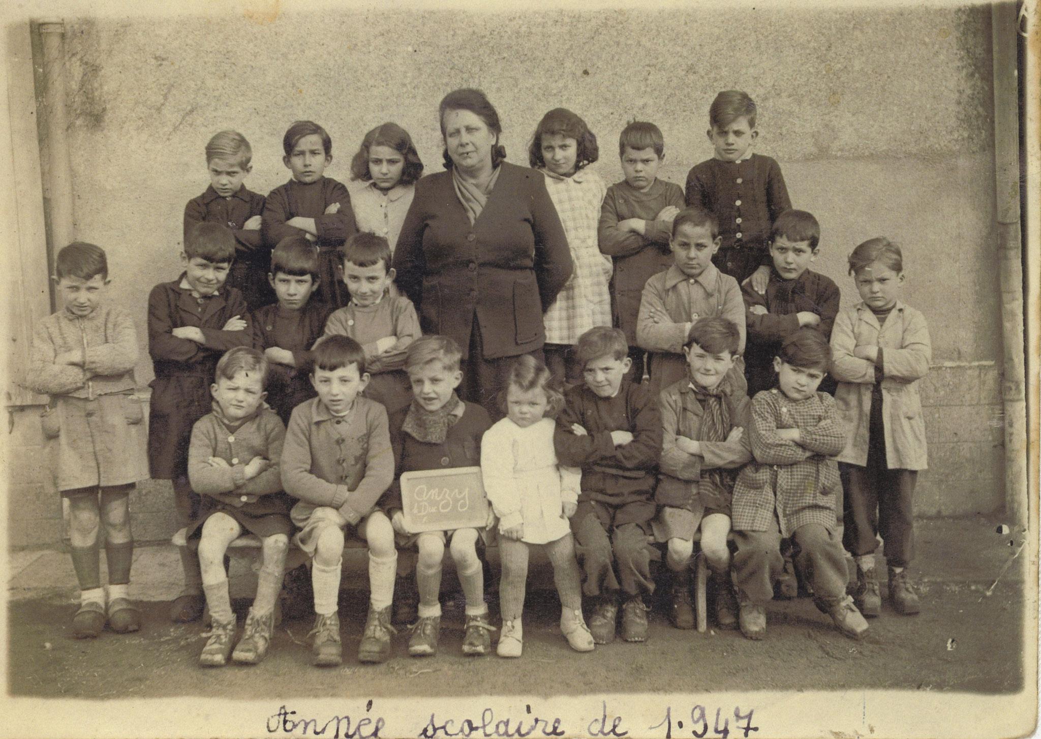 Photos scolaires anciennes