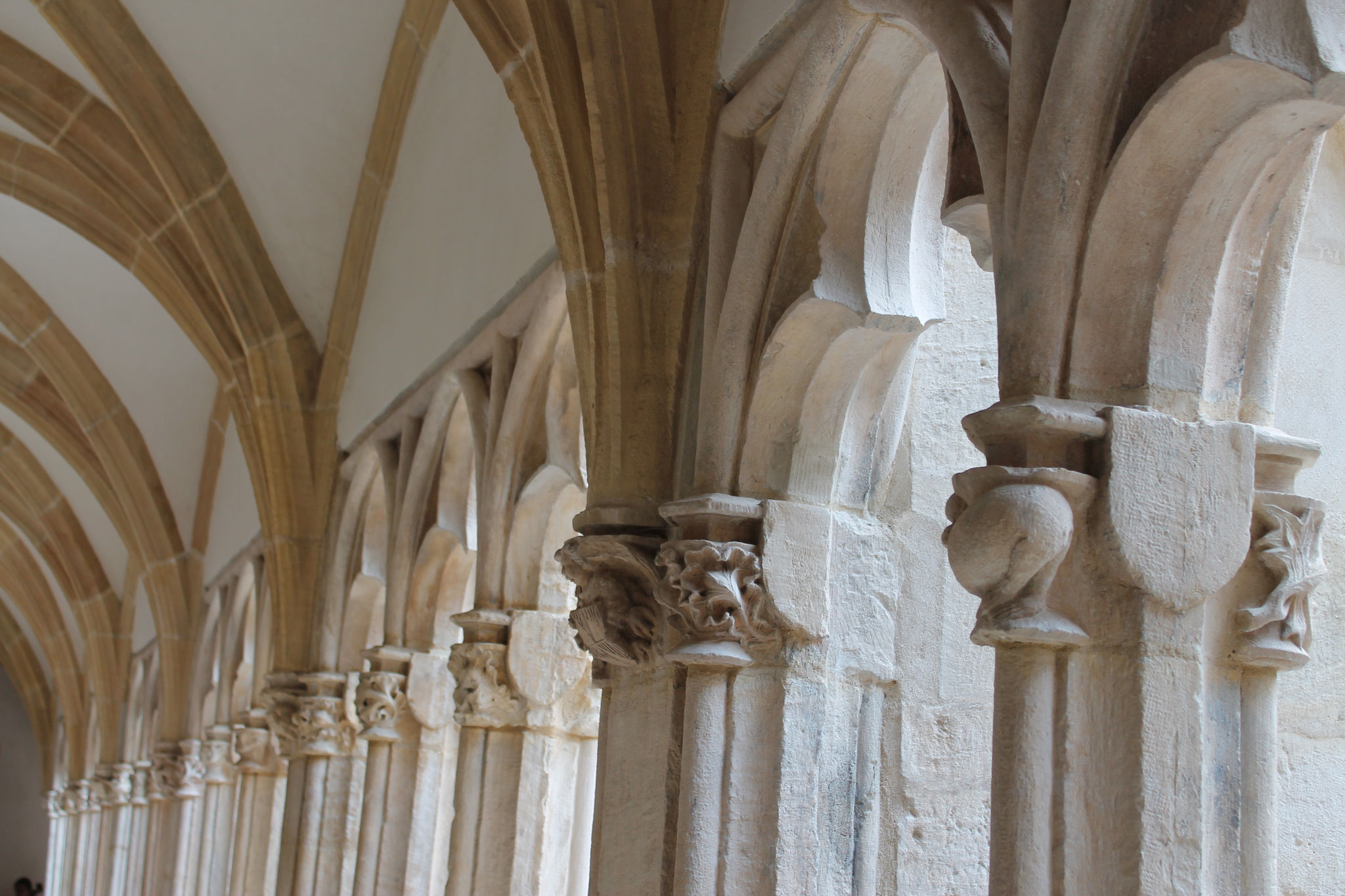 Le cloître Saint-Vincent à Chalon sur Saône