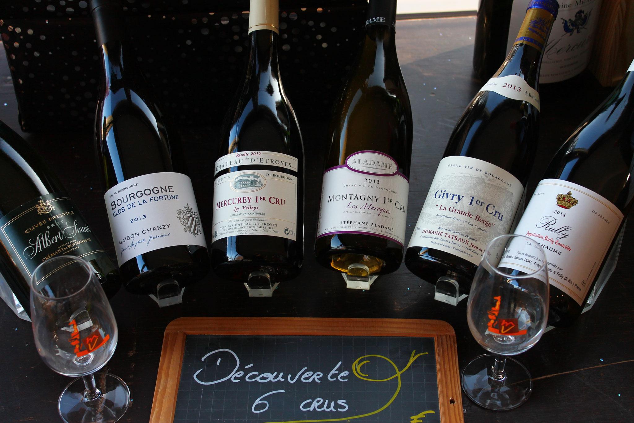Les vins de la côte chalonnaise: plaisirs et variété