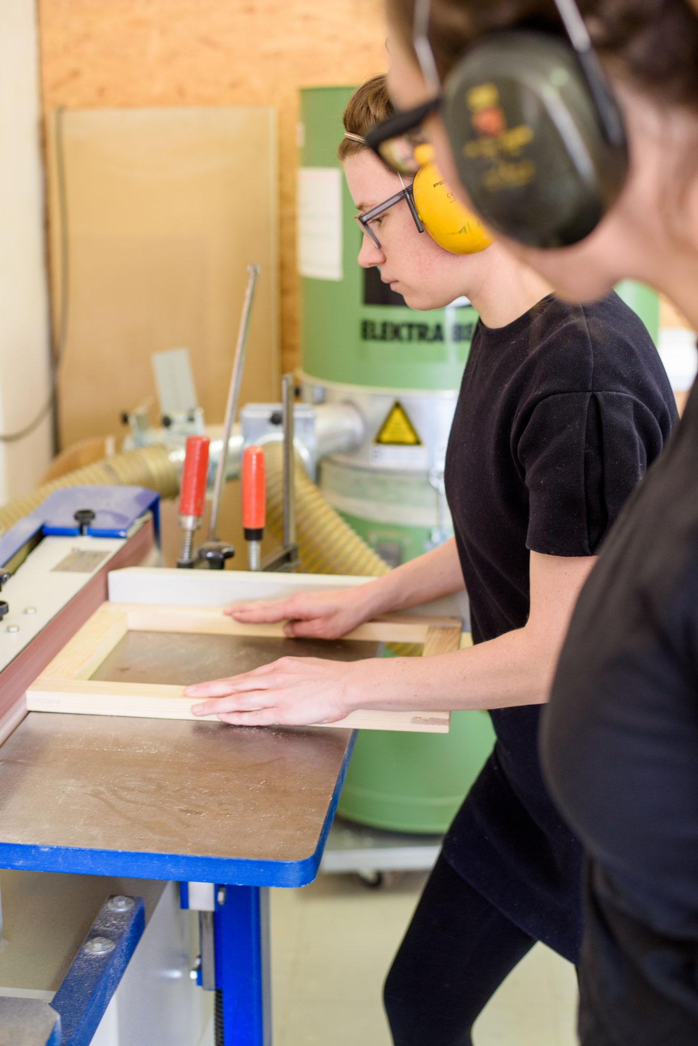 Tischlerkurs für Frauen Bamburg