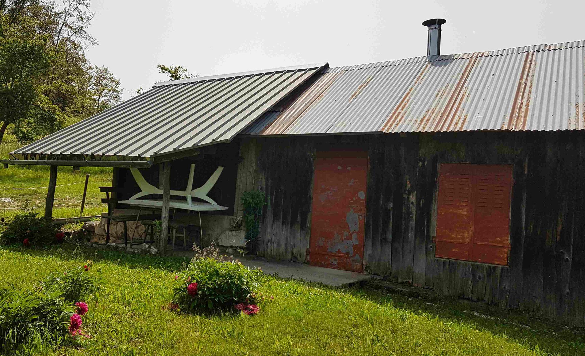 Réfection Chalet de montagne au Solliet (74) Avant
