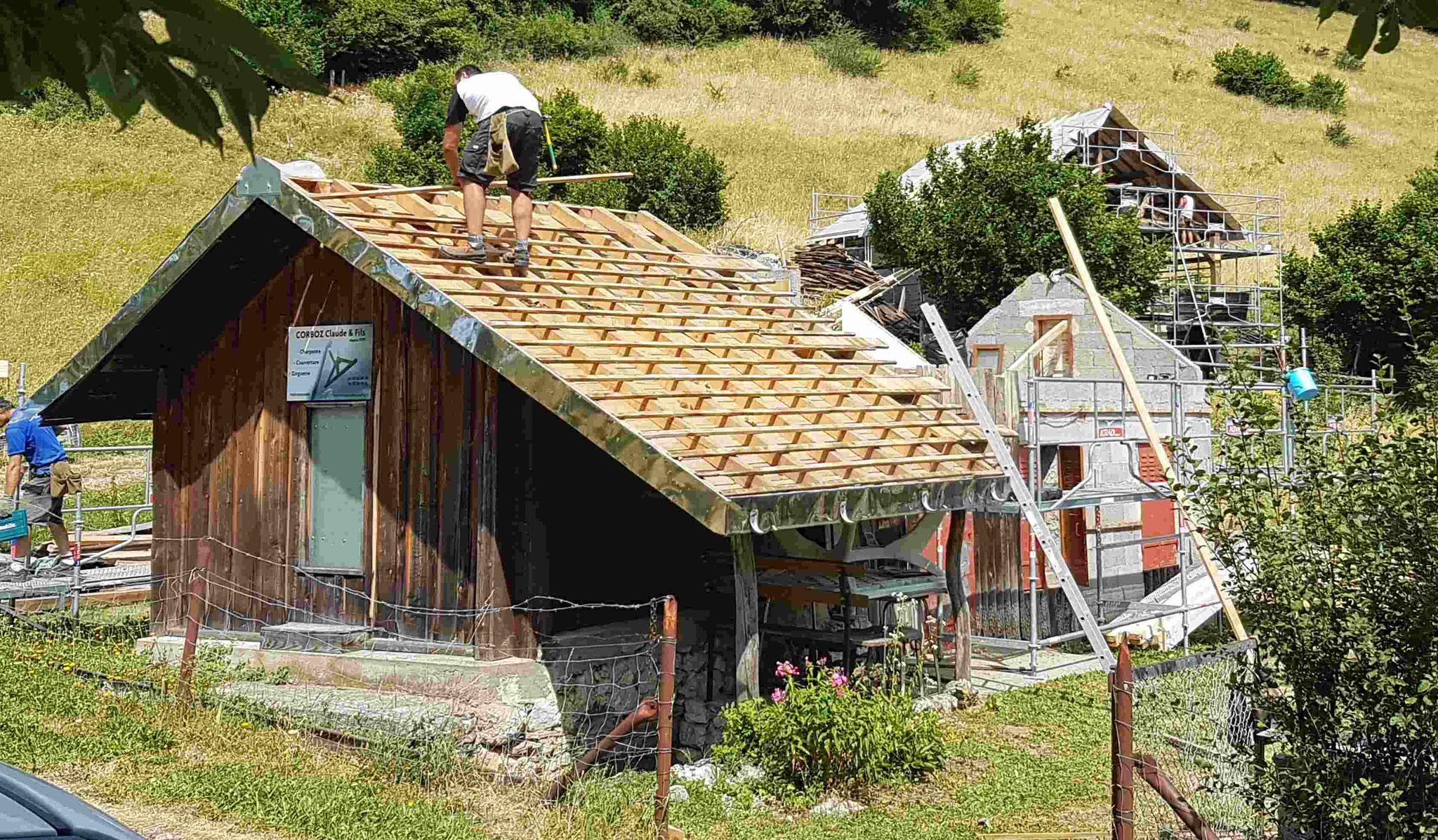Réfection Chalet de montagne au Solliet (74)