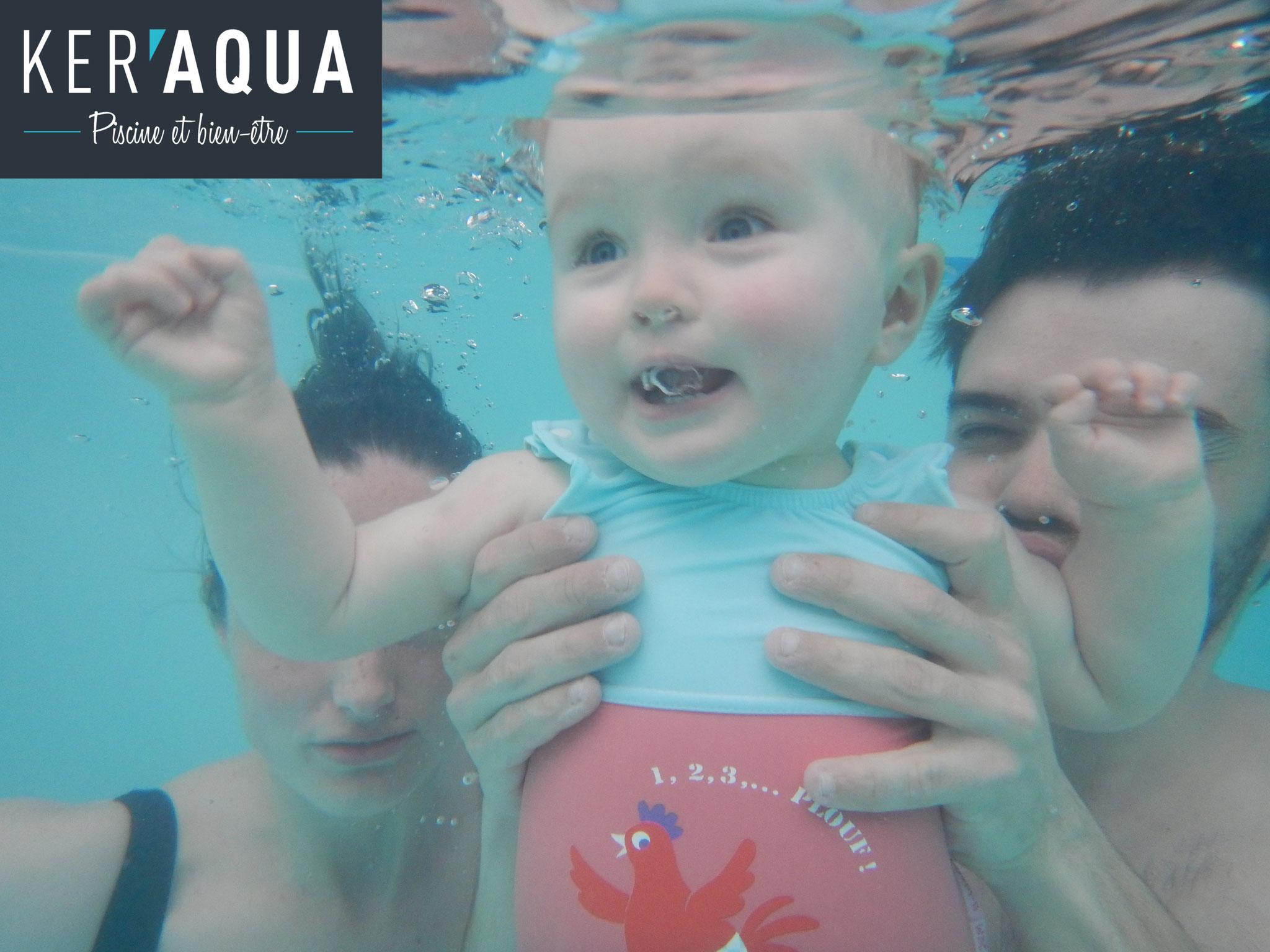 Bebe Nageur Et Eveil Aquatique A Rennes Ker Aqua Piscine Privee