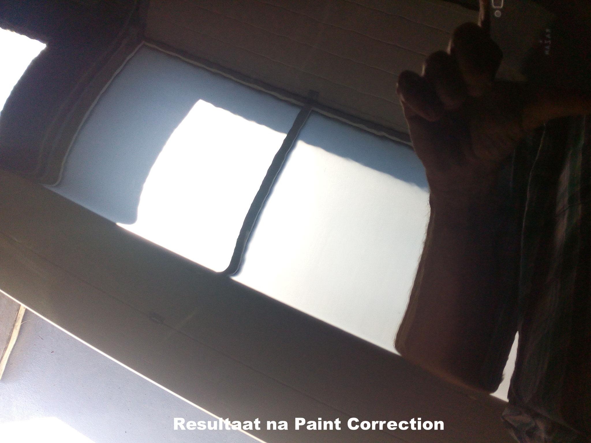 na intensief polijsten (Paint Correction) is dit het eind resultaat | A1 Car Cleaning
