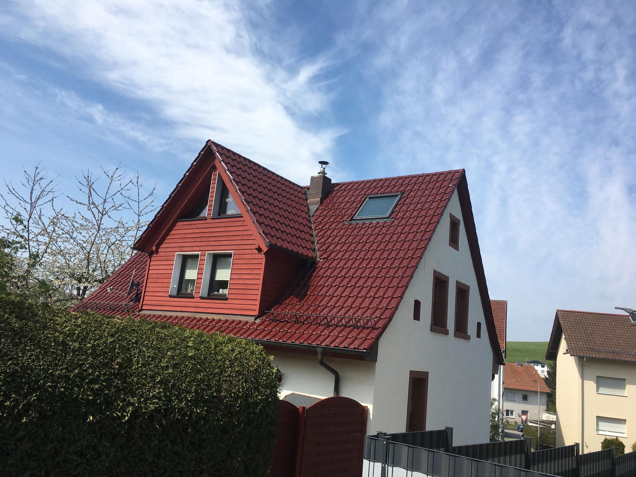 Gauben und energetische Dachsanierung